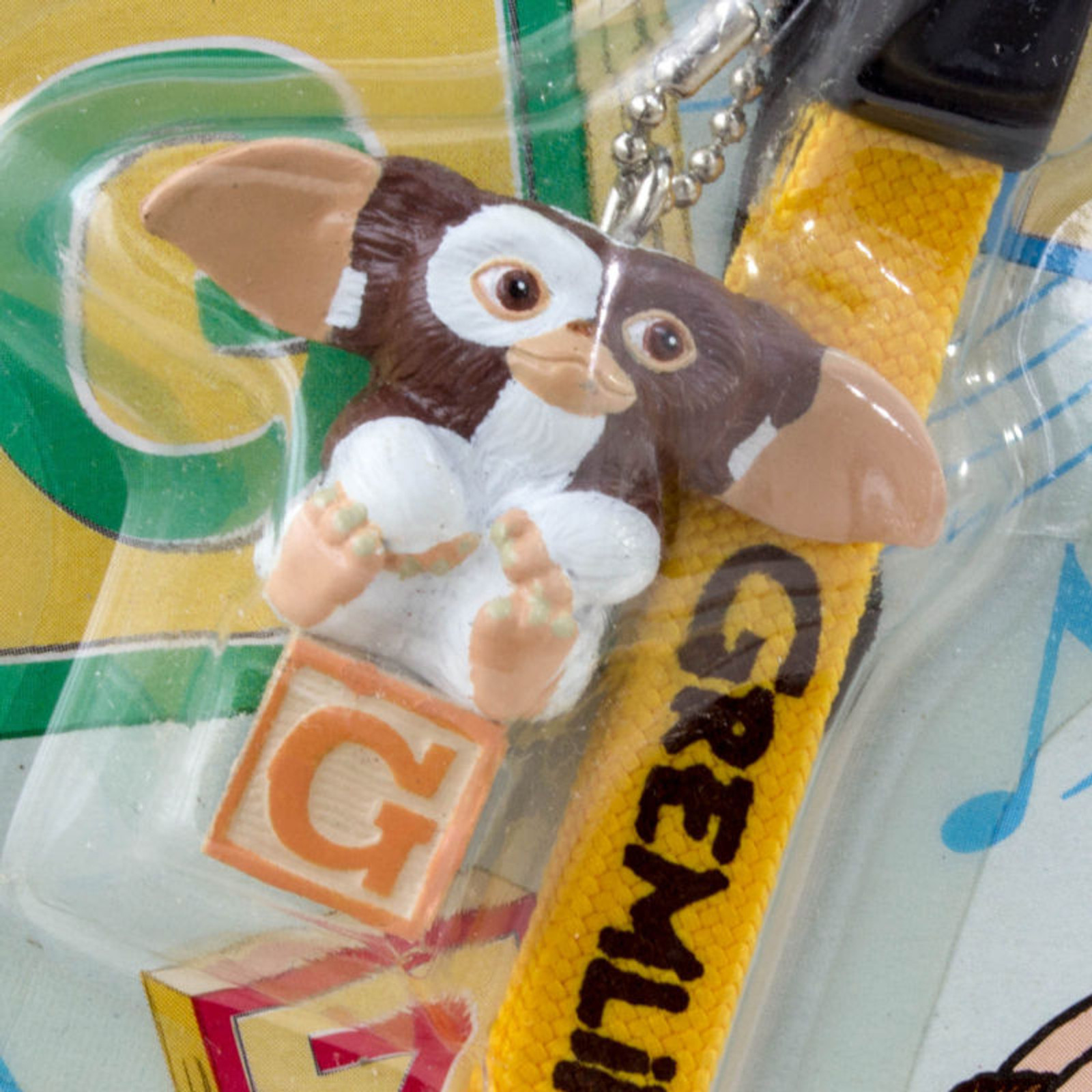 Gremlins 2 The New Batch Gizmo on Cube Figure Mobile Strap Jun Planning JAPAN