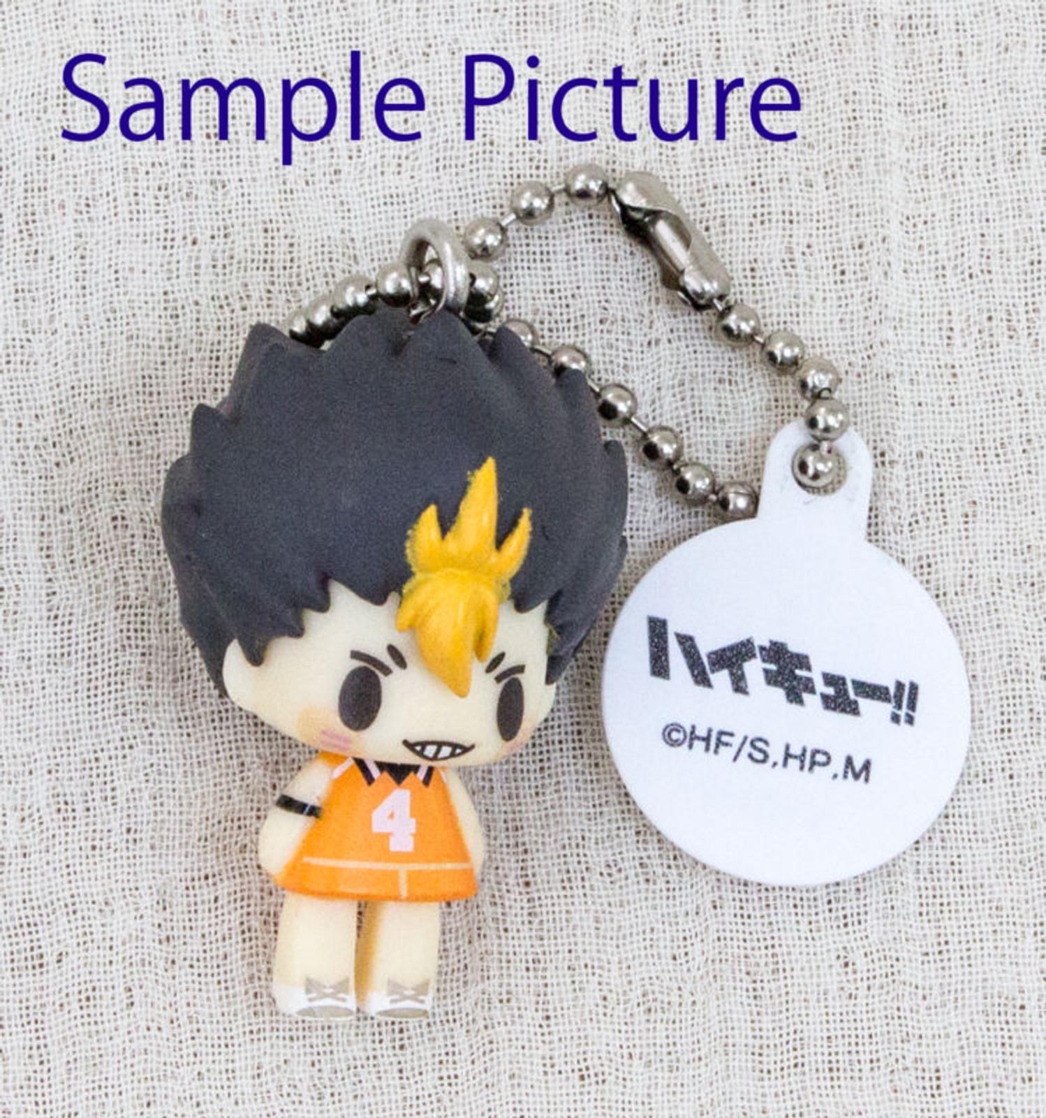 Haikyu!! Koedarize Mascot Figure Strap Yu Nishinoya Ver. Takara JAPAN ANIME