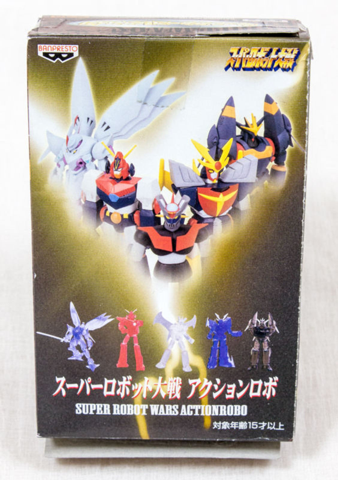 Super Robot Wars Action Robo Mini Figure Cybuster Clear Ver. JAPAN ANIME