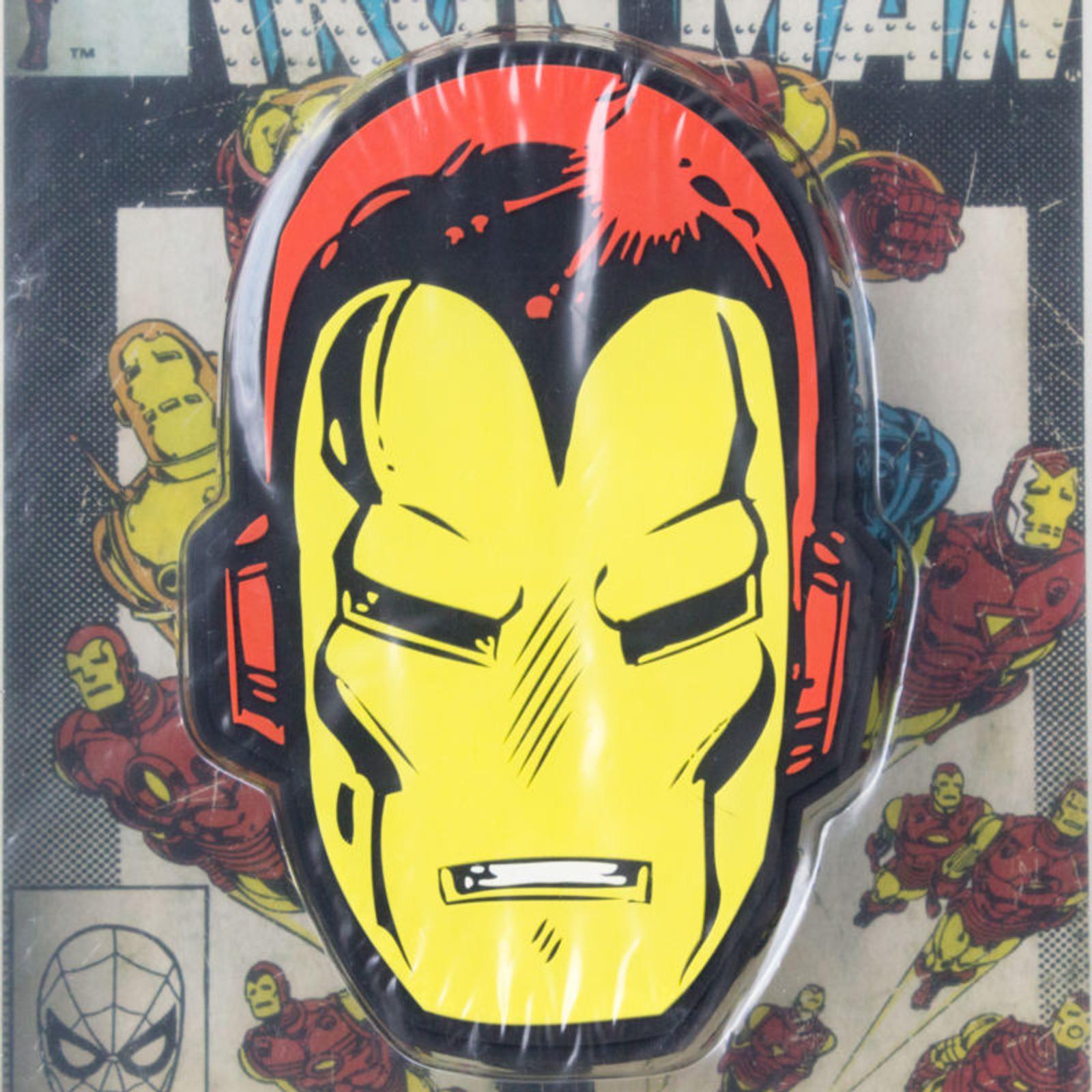 Marvel Rubber Magnet Iron Man Face Banpresto JAPAN ANIME COMICS
