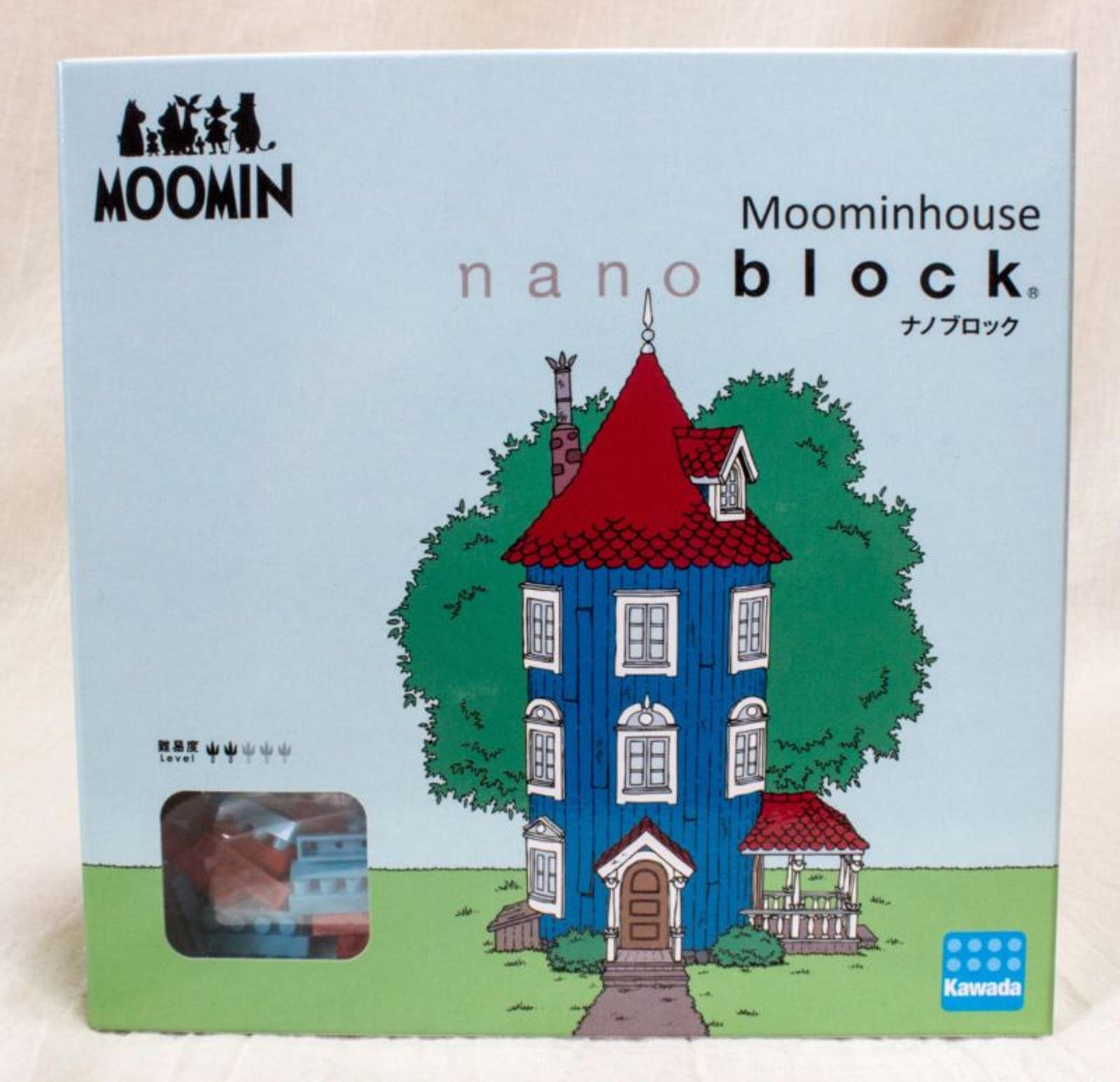 Moomin Moominhouse Kawada Nanoblock Nano Block MOM-042 JAPAN