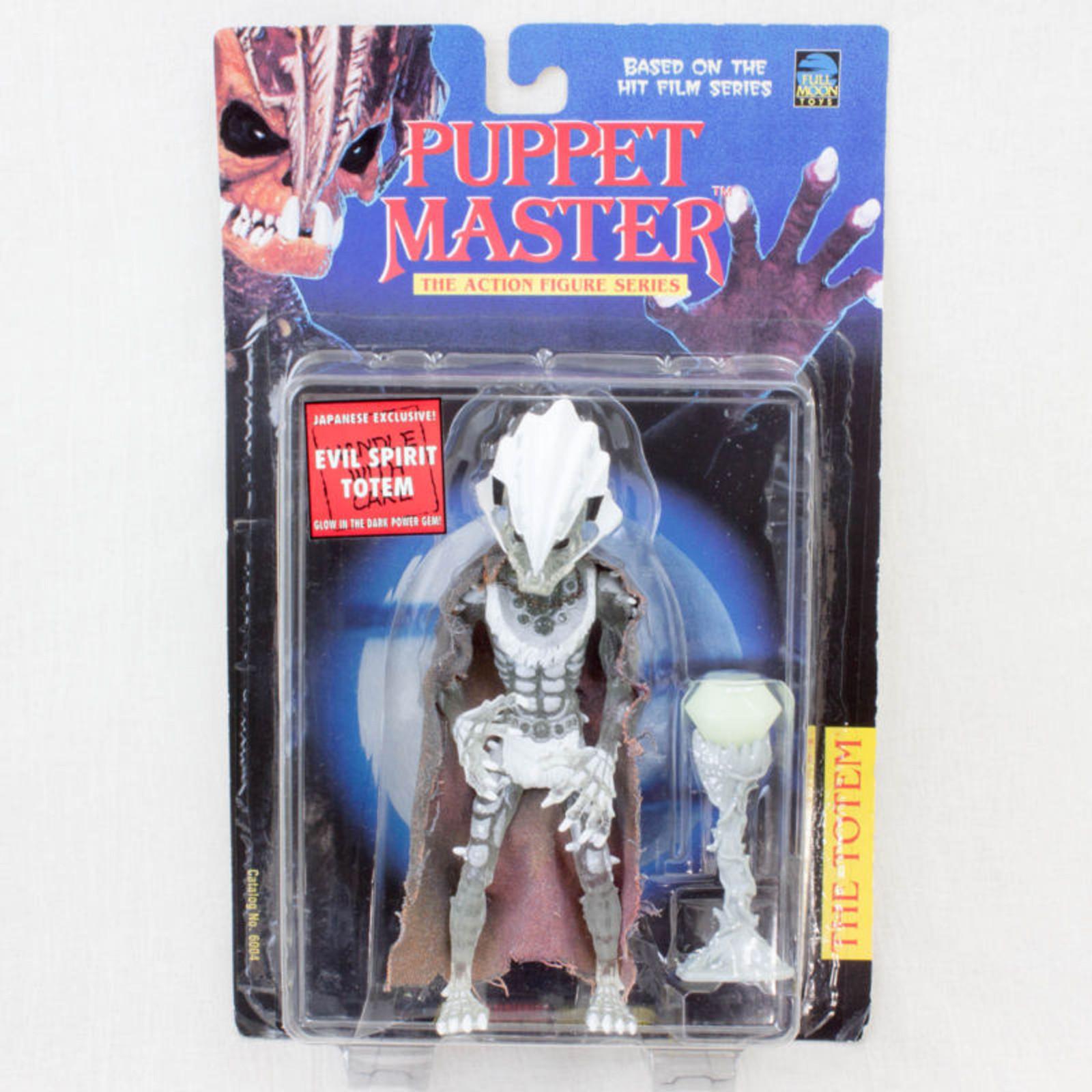 PUPPET MASTER Evil Spirit Totem Figure Japanese Exclusive Full Moon Toys