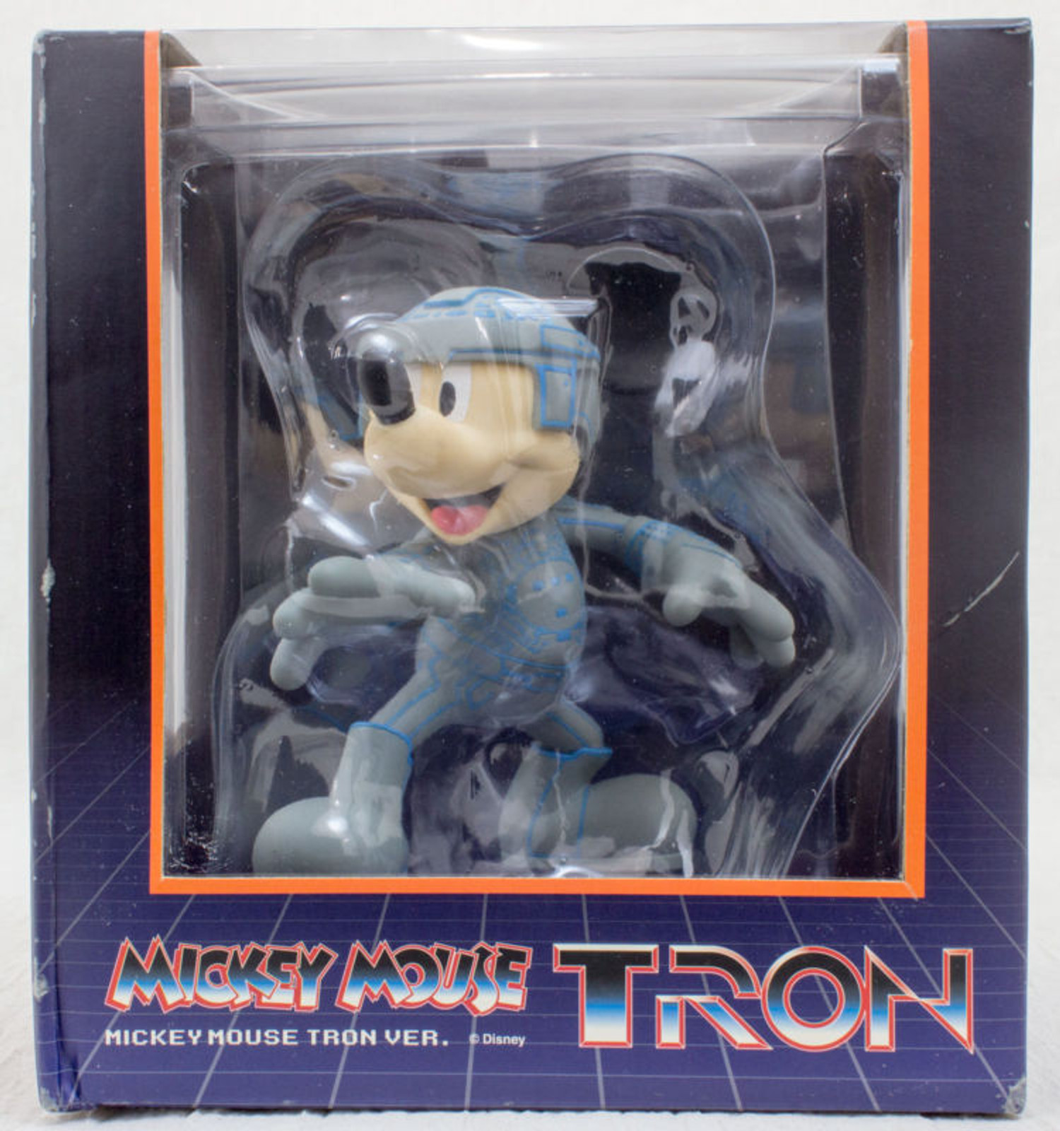 Disney Mickey Mouse TRON Ver. VCD Vinyl Collectible Dolls Figure Medicom JAPAN