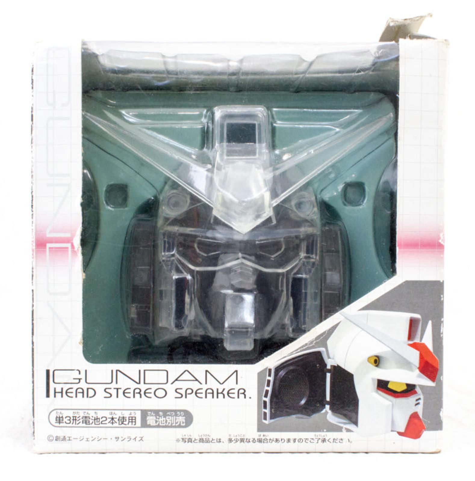Gundam Figure Head Type Stereo Speaker Clear Ver. Banpresto JAPAN ANIME FIGURE