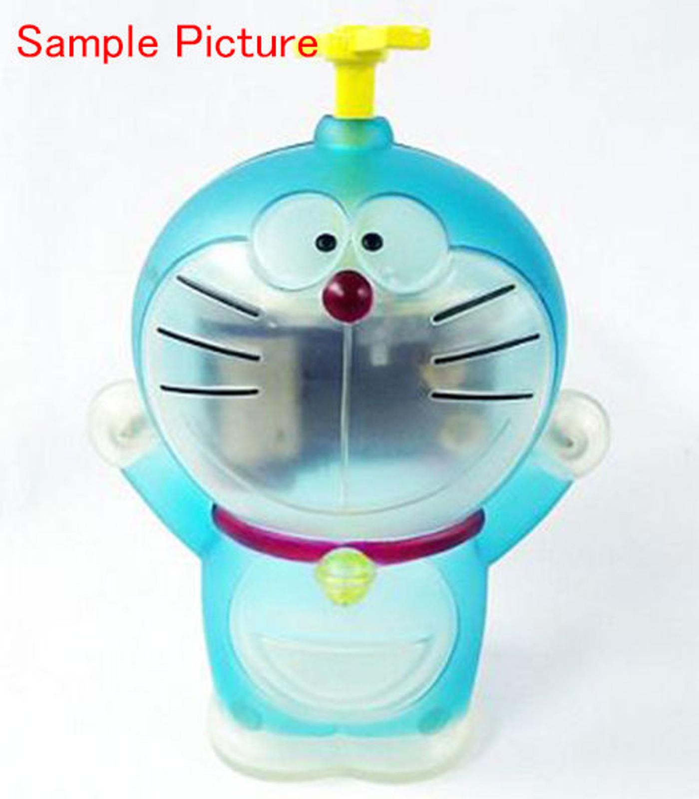 Doraemon Figure type Music Box Clear Blue Ver. OP Theme Song JAPAN ANIME  FUJIO