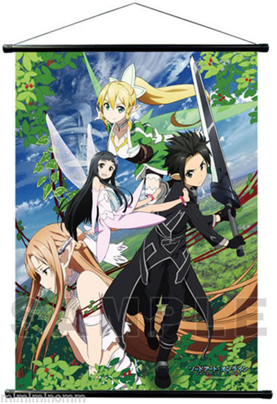 Sword Art Online B2 Big Size Tapestry Wall Scroll Poster Asuna JAPAN ANIME
