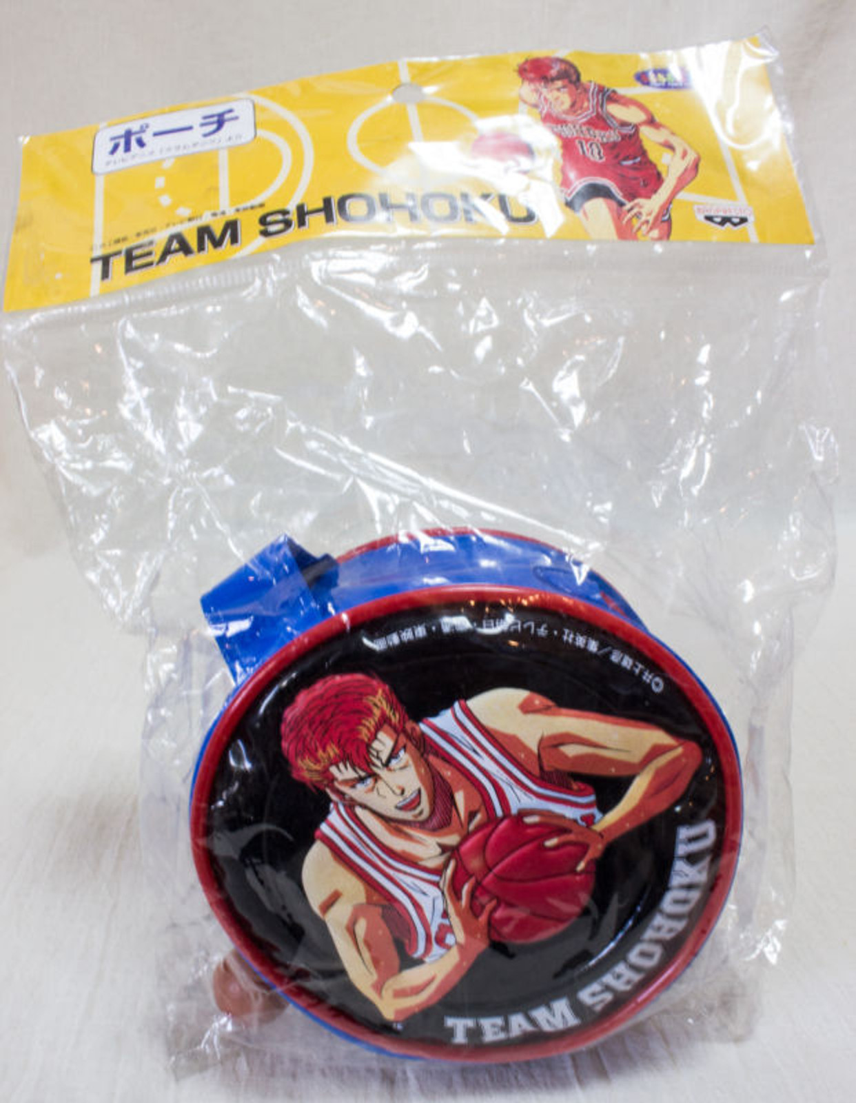 Slam Dunk Team Shohoku Sakuragi Pouch Mini Bag Banpresto JAPAN ANIME MANGA