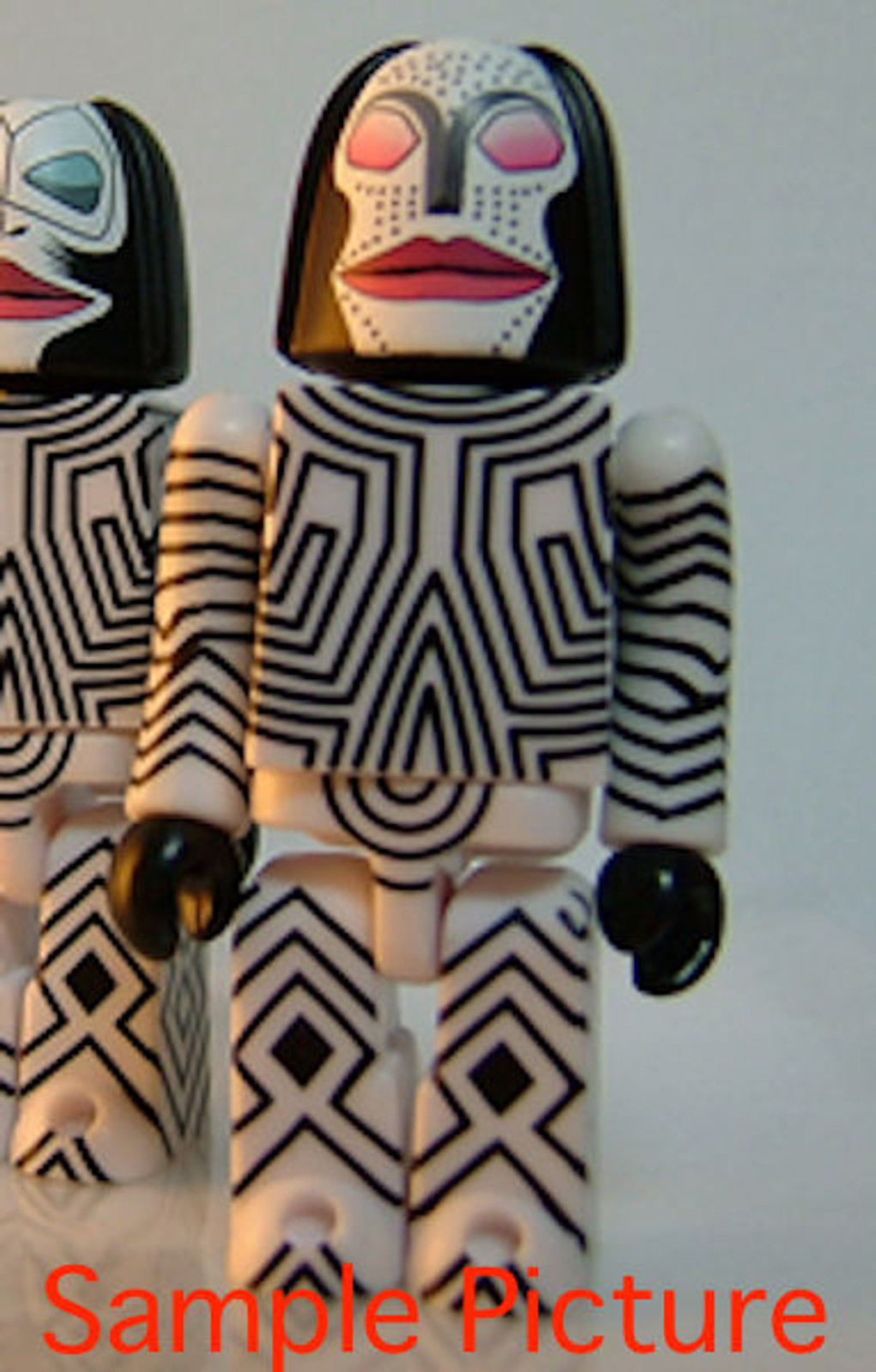 Ultraman Alien Dada red eyes Kubrick Figure Medicom Toy JAPAN ANIME