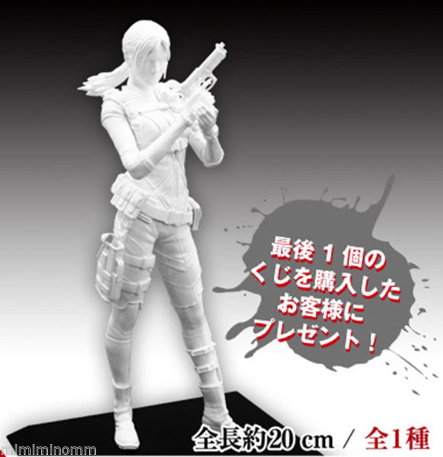 Biohazard Jill Valentine Levelations Enamel White Capcom Figure Builder JAPAN