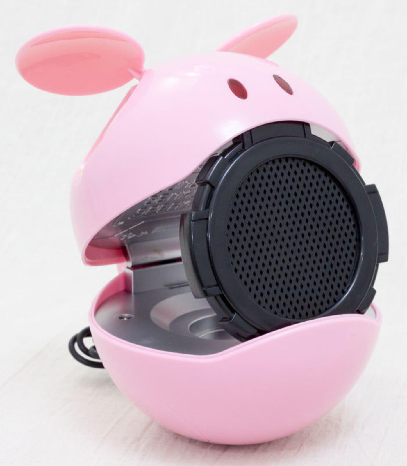 Gundam Mascot Robot Haro Figure Speaker Pink Ver. JAPAN ANIME MANGA