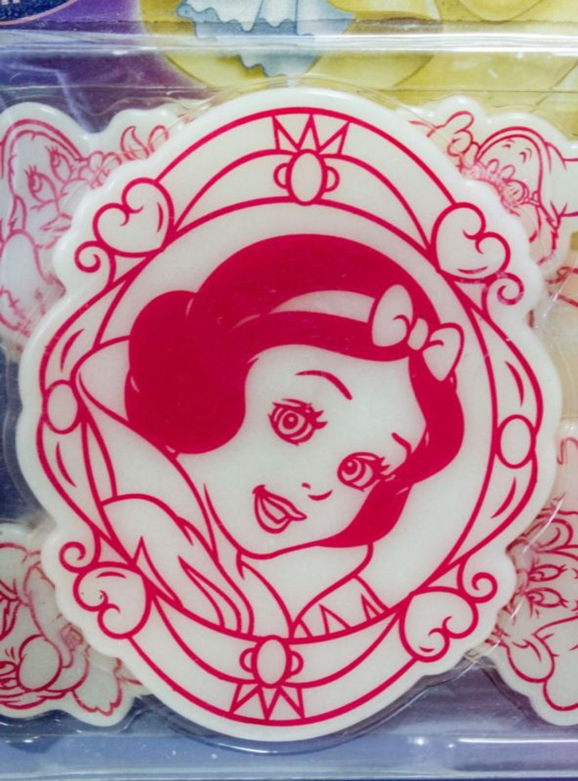 Disney Snow White Lumina Shower Glow in Dark Sticker JAPAN ANIME