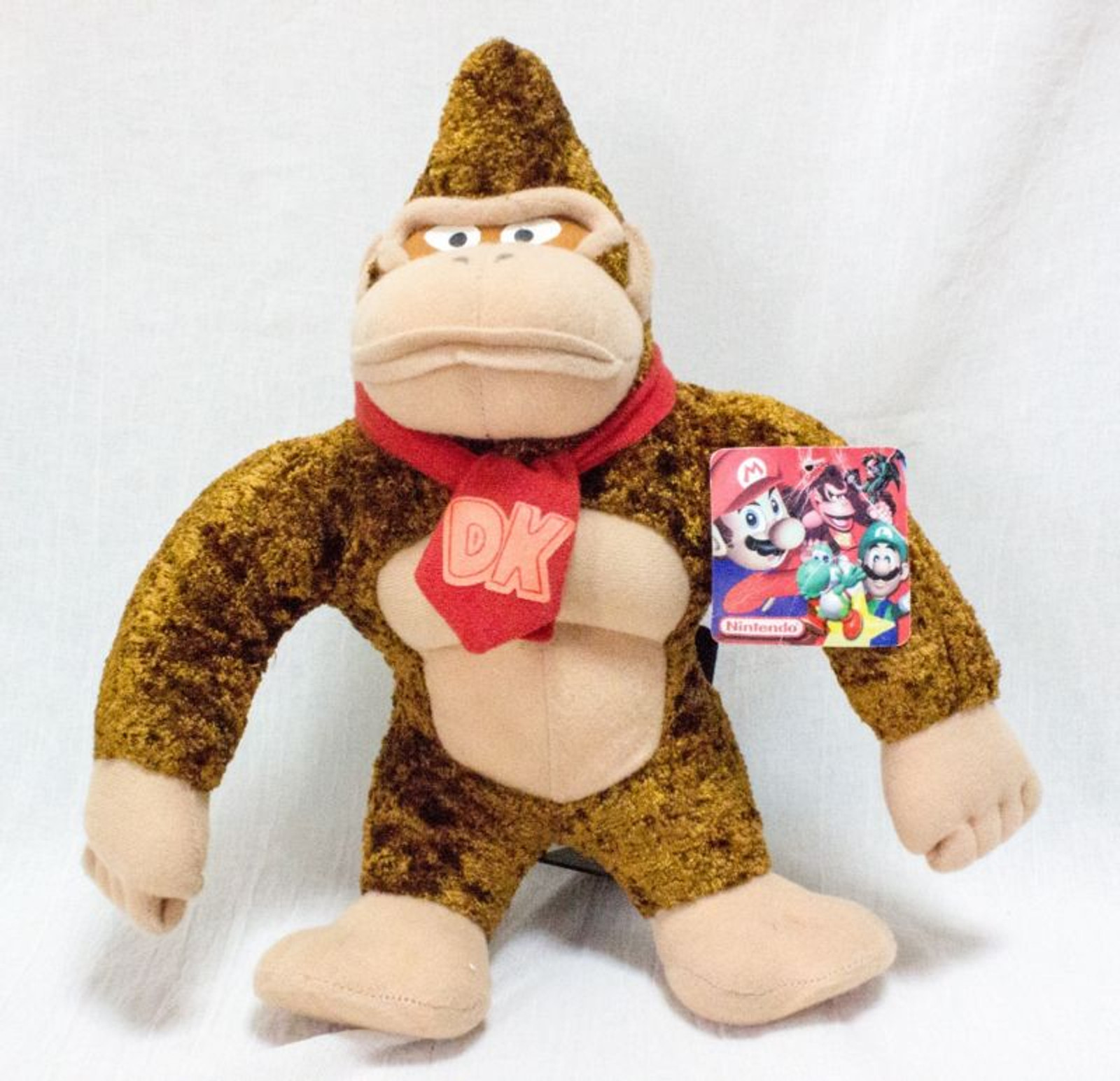 "12"" Donkey Kong Plush Doll Figure Nintendo Kellytoy"