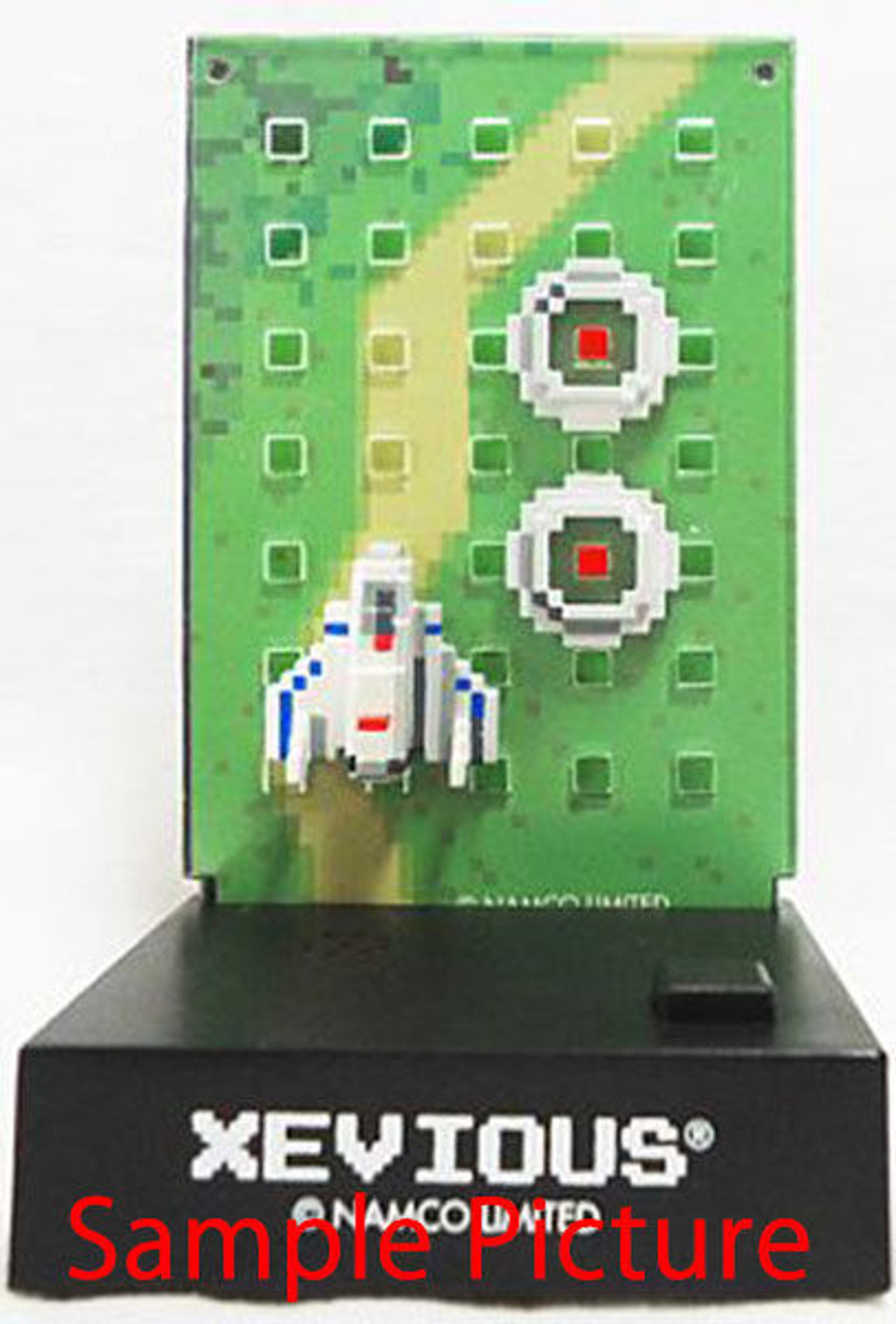Namco Dotgraphics Xevious Figure with Game Sound JAPAN FAMICOM