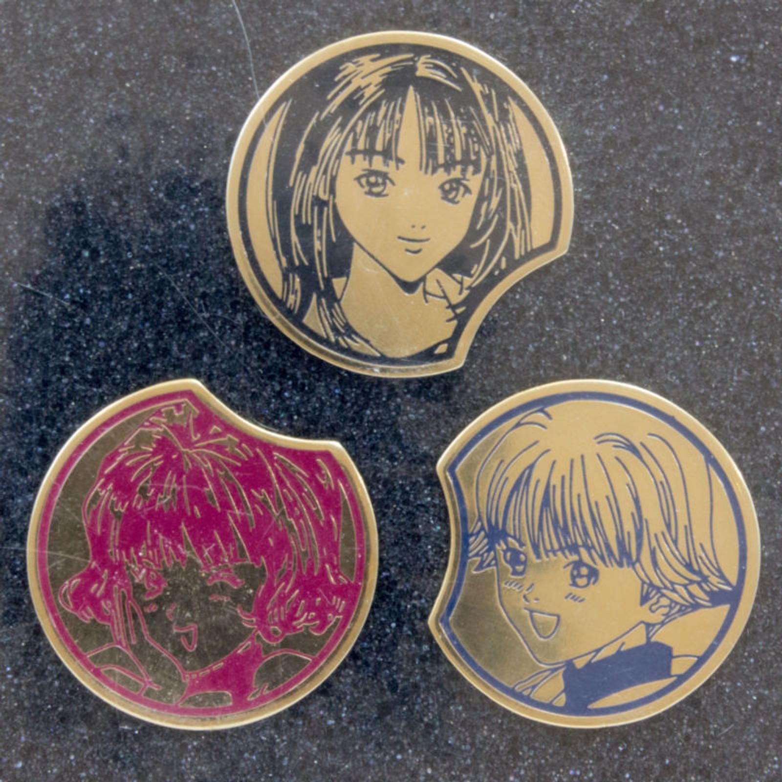 I's Special Pins Set Iori Yoshizuki Itsuki Izumi JAPAN ANIME MASAKAZU KATSURA
