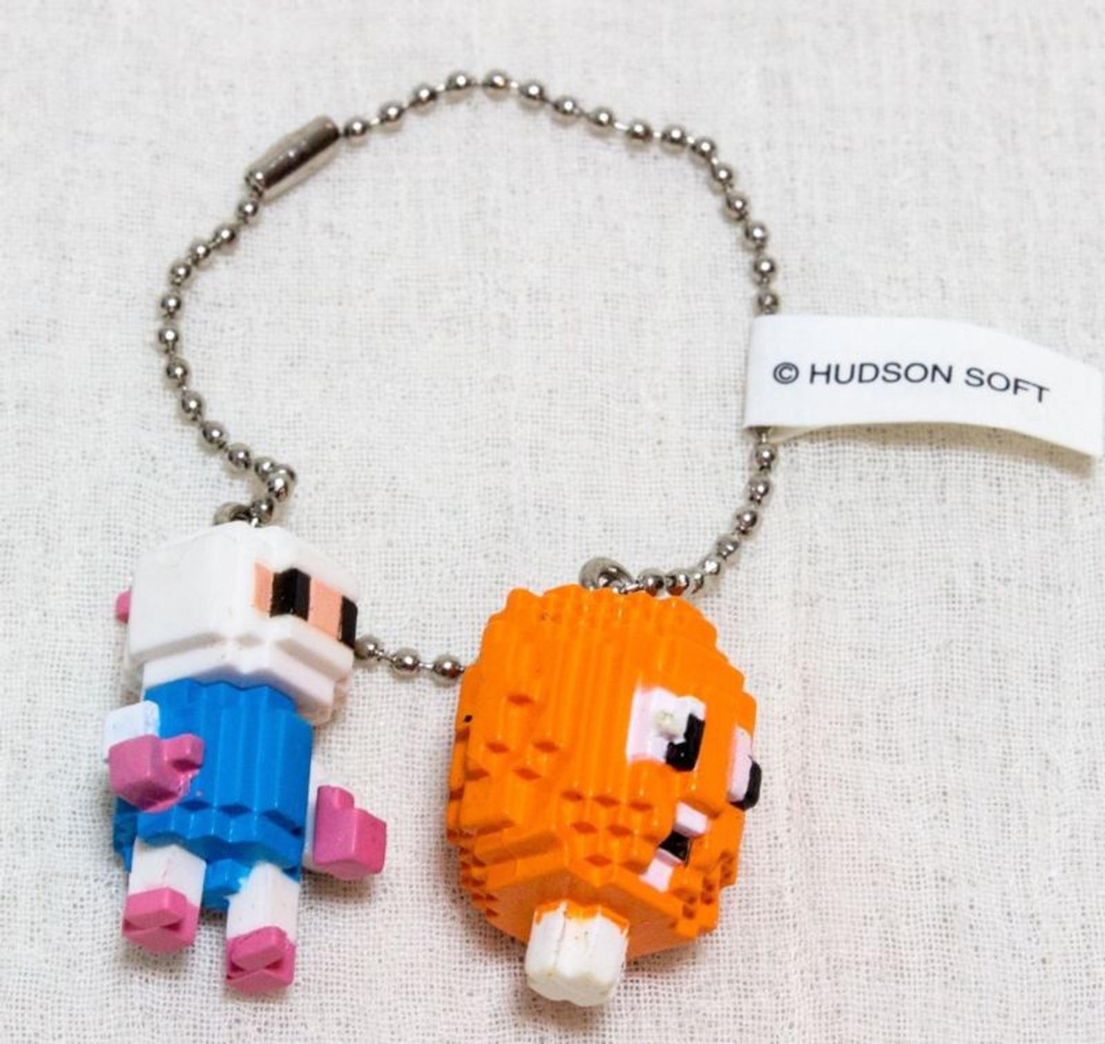 BOXLEBEL Famicom Character Figure Key Chain Bomberman Hudson JAPAN NES