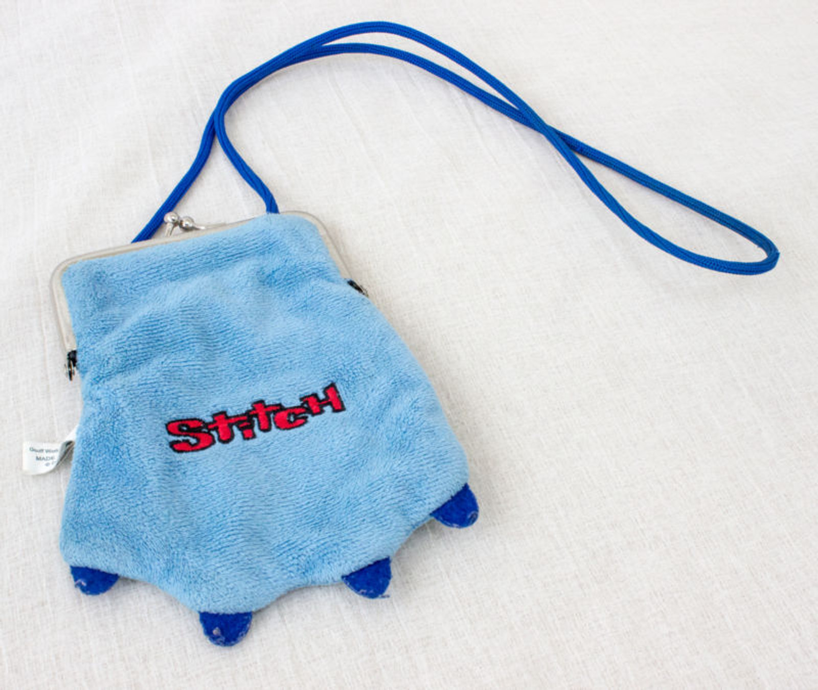 Disney Stitch Japanese Coin Case Bag Sole of the Hand Ver. Banpresto JAPAN ANIME