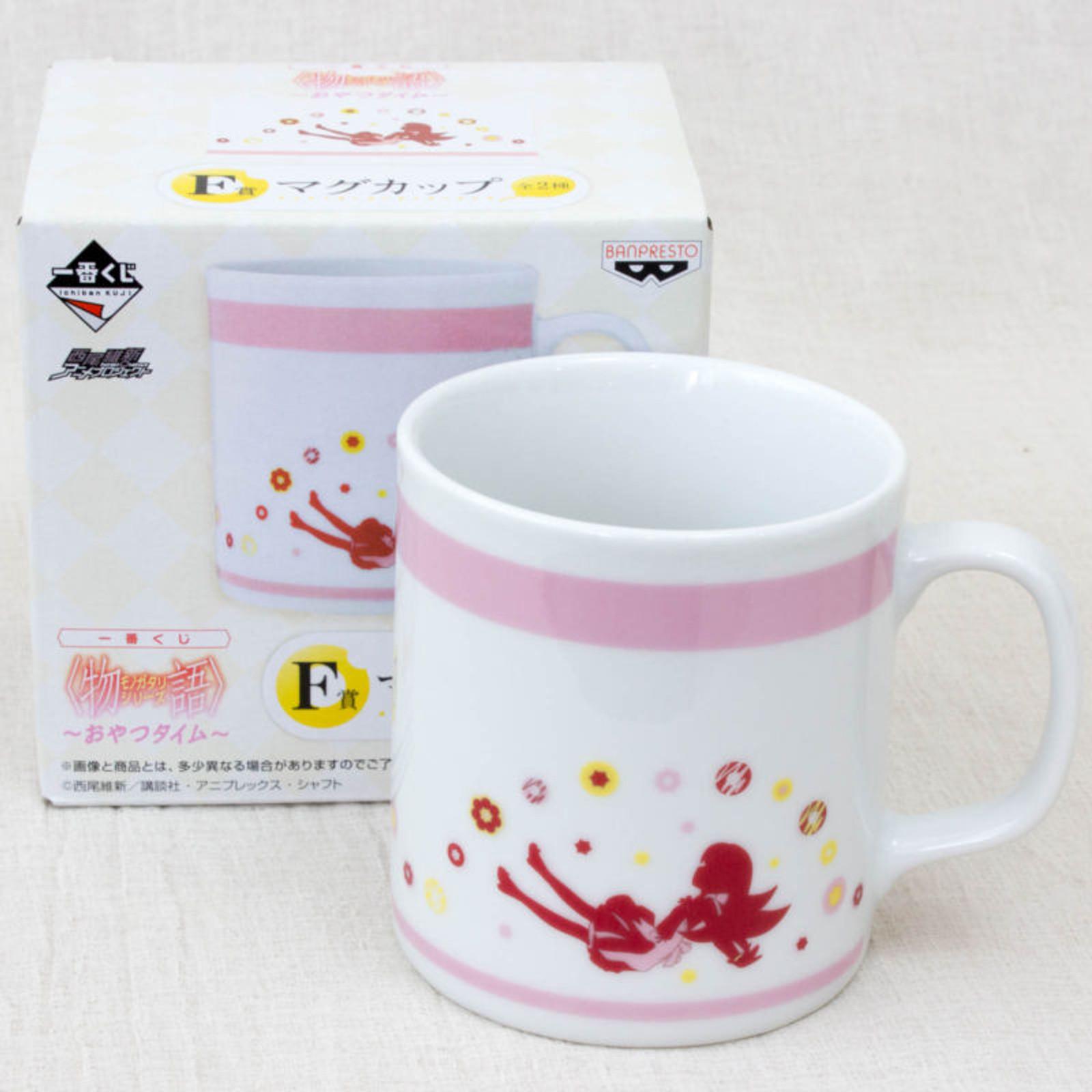 Bakemonogatari Mug Cup Shinobu Oshino Ver. Banpresto JAPAN ANIME MANGA