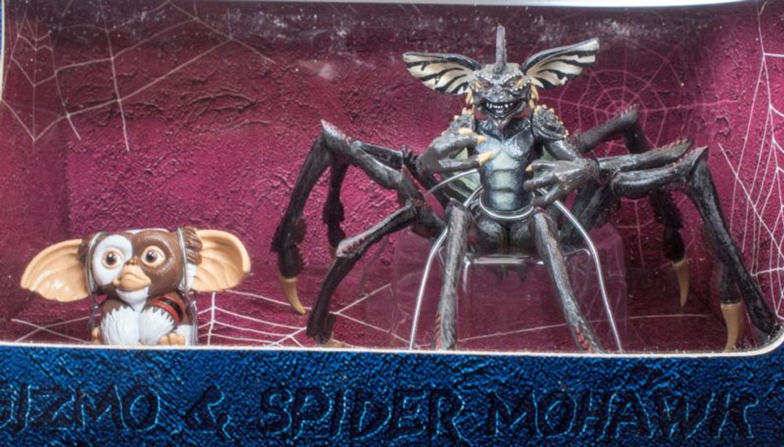 Gremlins 2 Jun Planning The New Batch Gizmo Spider Mohawk PVC Figure Collection