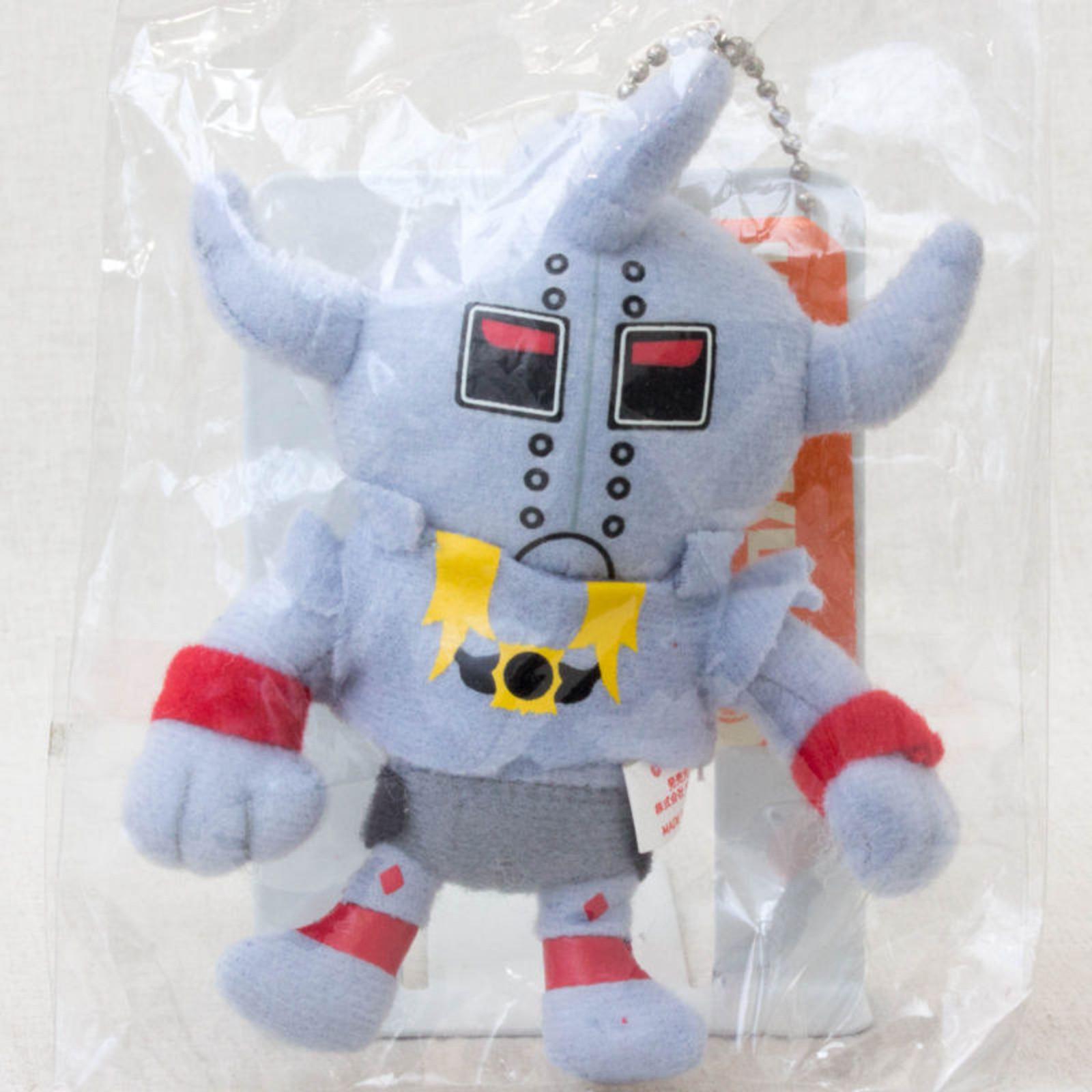Kinnikuman Akuma Shogun Mini Plush Doll JAPAN ANIME MANGA JUMP MUSCLE MAN