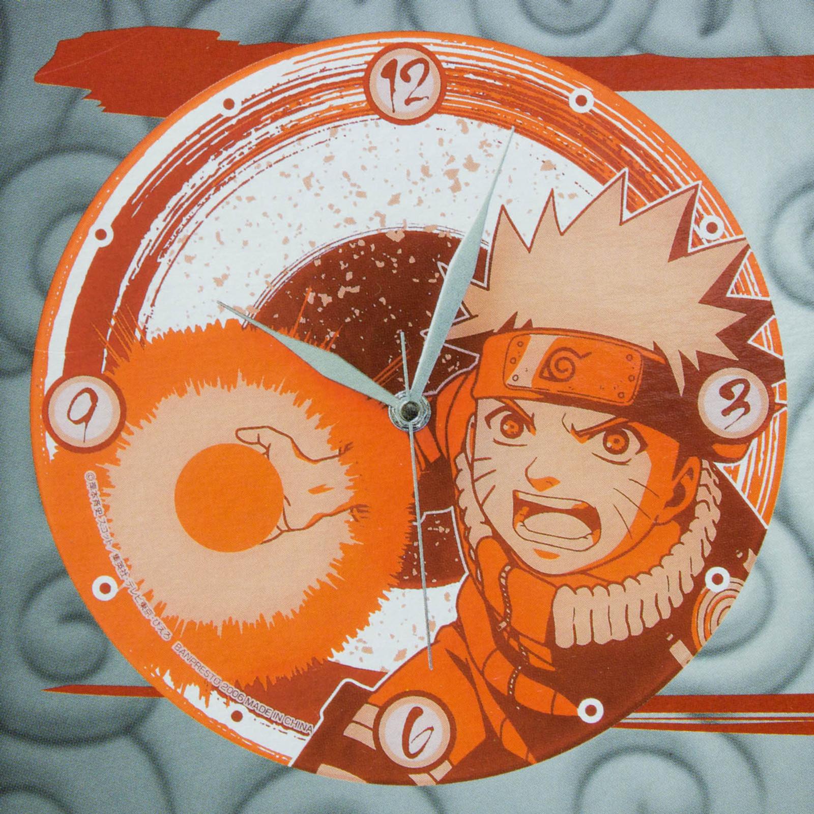 NARUTO Uzumaki Naruto Art Wall Clock Banpresto JAPAN ANIME MANGA SHONEN JUMP