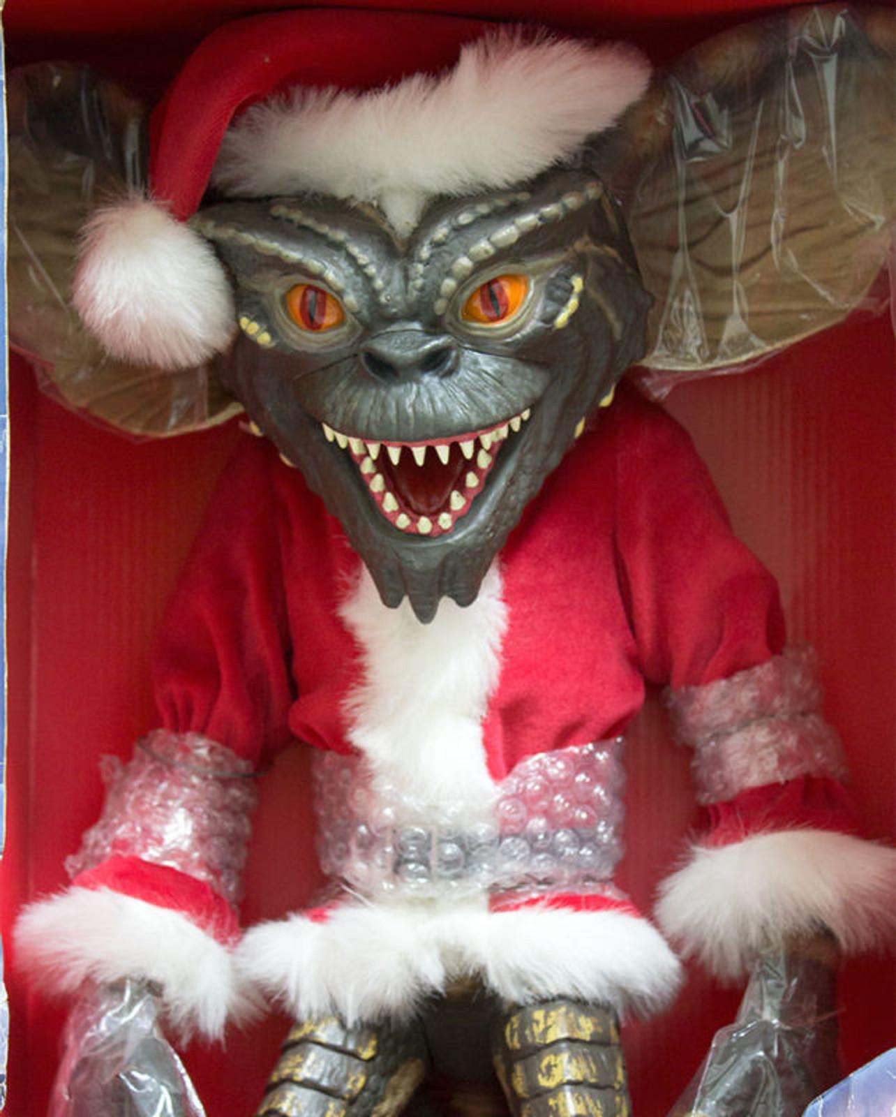 RARE!! Gremlins : 19 inch Stripe Gremlin Santa Costume figure Jun Planning JAPAN
