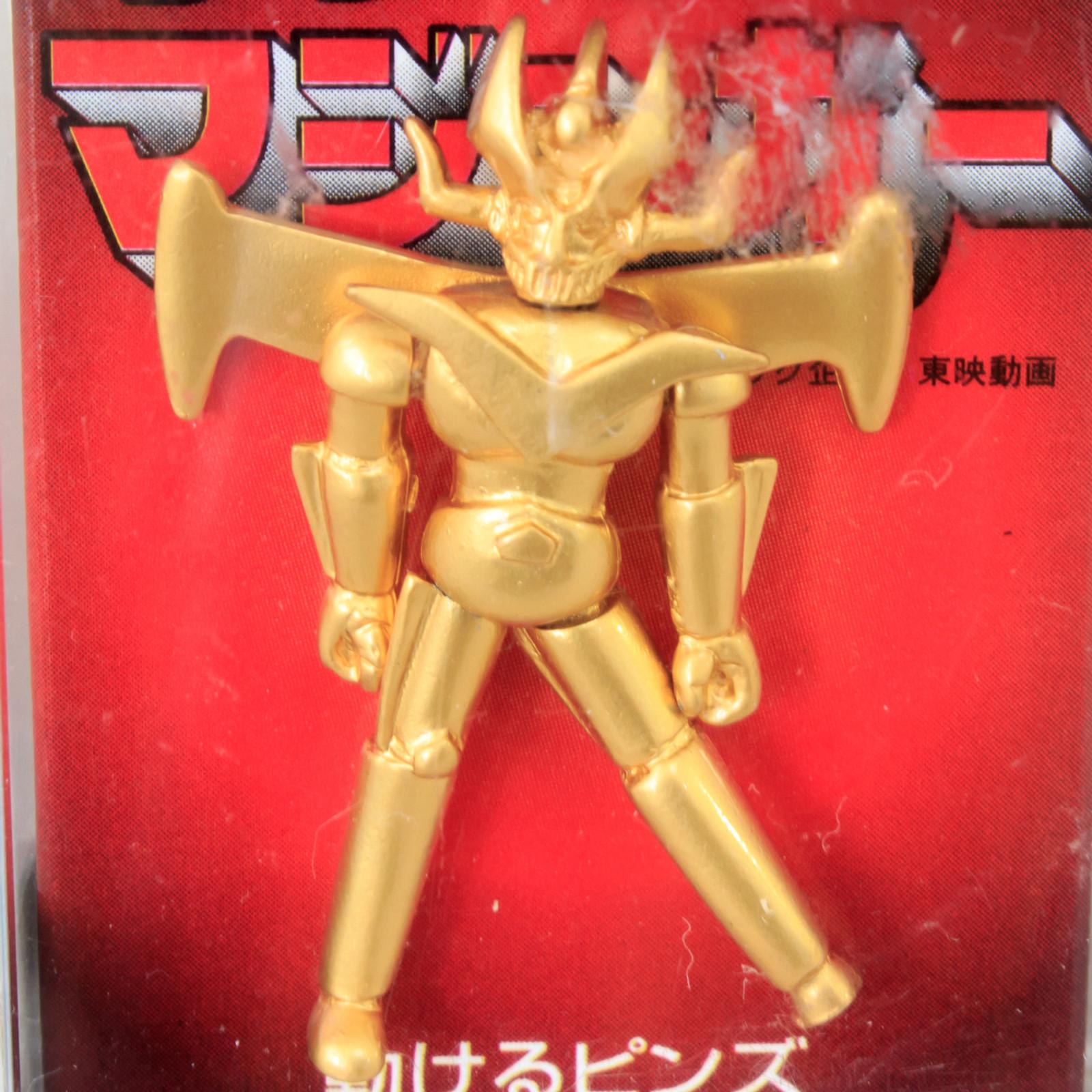 Retro Rare! Great Mazinger Z Action Pins JAPAN ANIME MANGA NAGAI GO