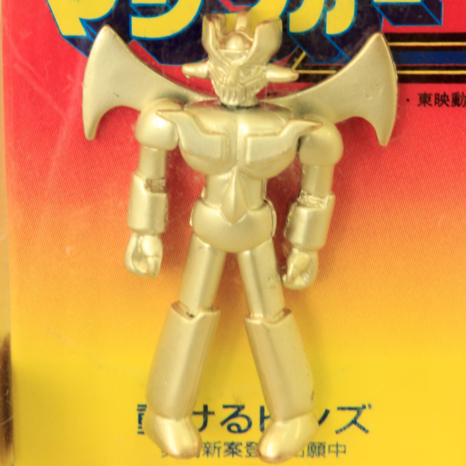 Retro Rare! Mazinger Z Action Pins JAPAN ANIME MANGA NAGAI GO