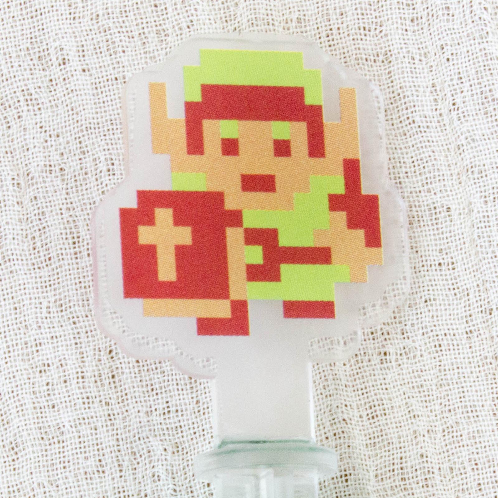 Legend of Zelda Historical 3DS Chara Touch Pen JAPAN FAMICOM NES NINTENDO 1