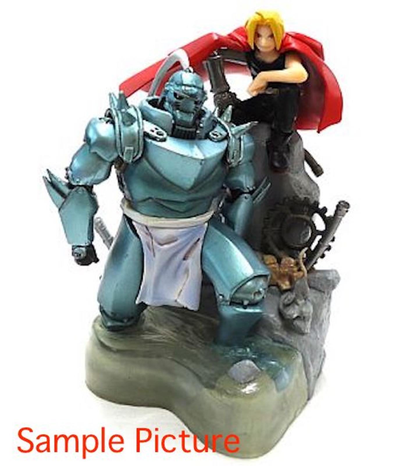 Fullmetal Alchemist Book in Figure Red Edward Elric and Alphonse JAPAN ANIME