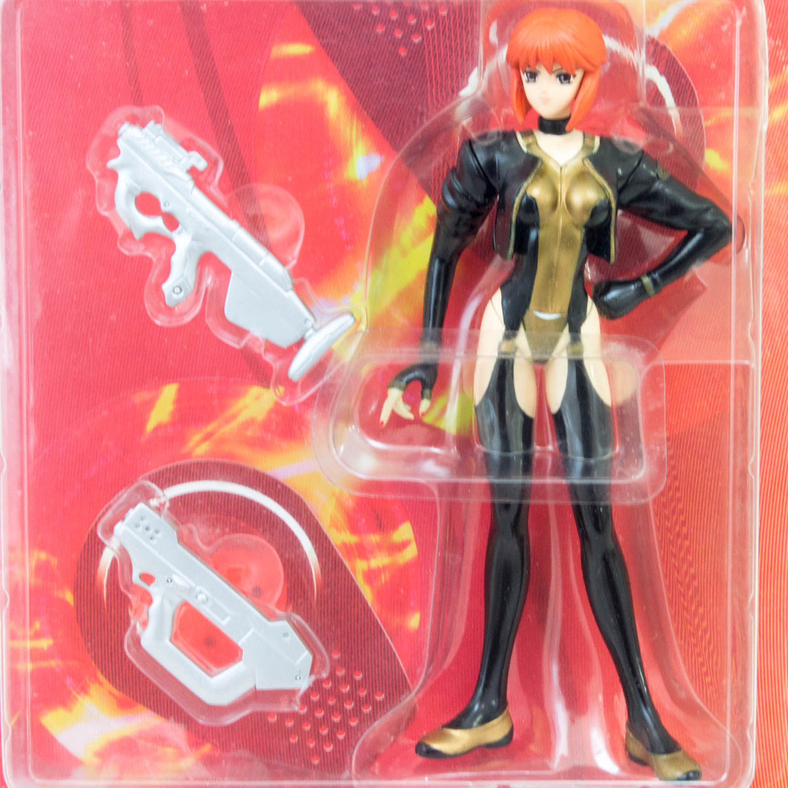 Ghost in the Shell Motoko Kusanagi Red Hair Figure White Out ALPHA JAPAN ANIME
