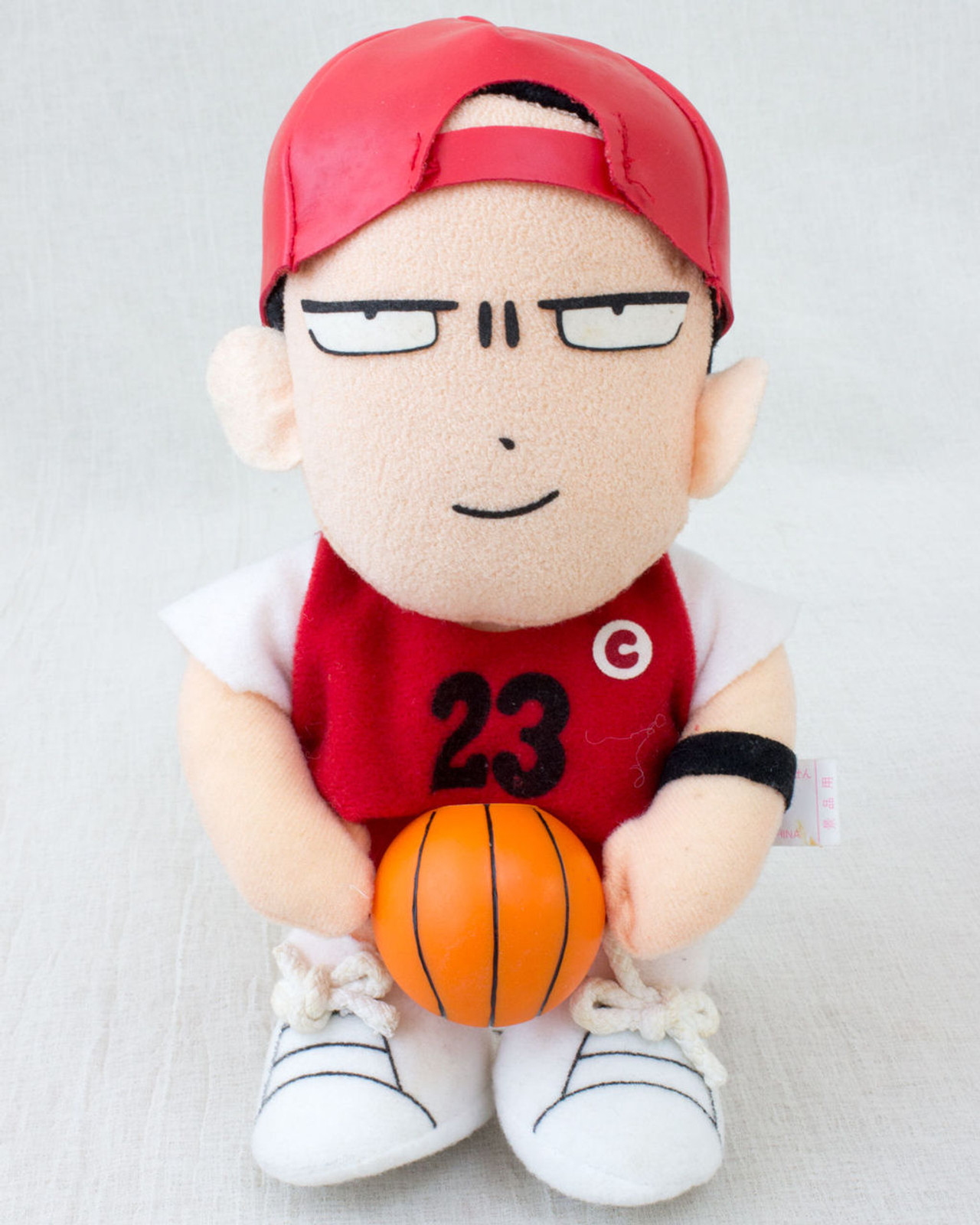 Takehiko Inoue Plush Doll Author of Slam Dunk JAPAN ANIME MANGA FIGURE
