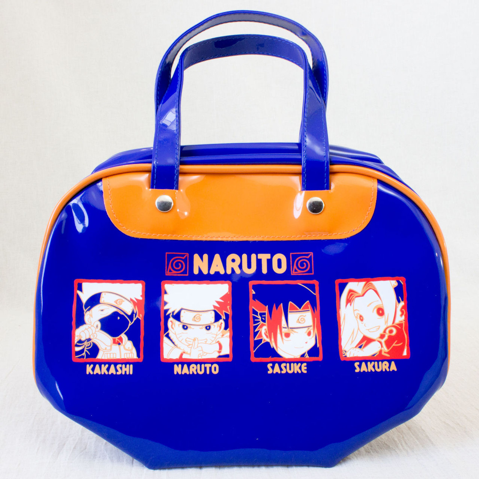 RARE! NARUTO Mini Boston Bag JAPAN ANIME MANGA JUMP