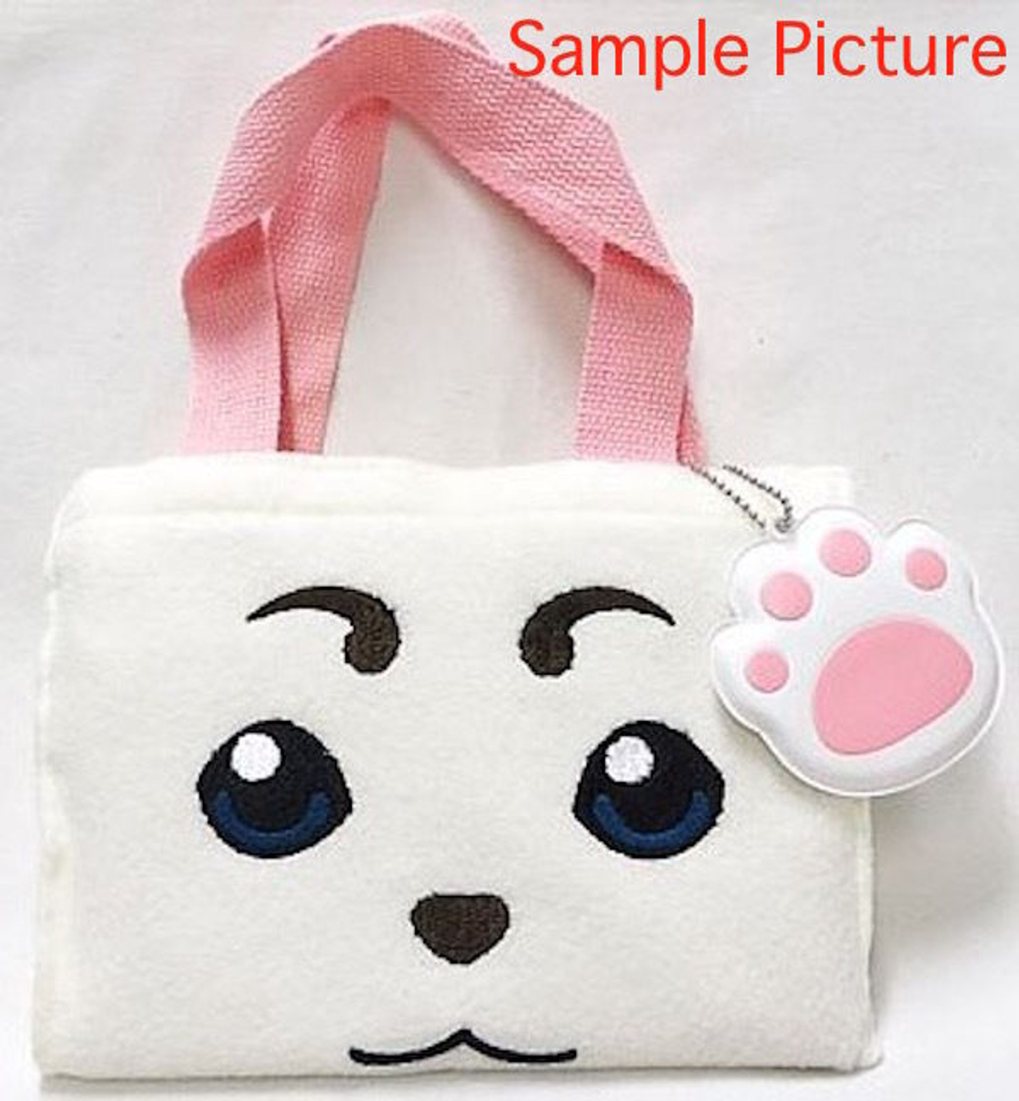 Gintama Sadaharu Mini Tote Bag with Charm JAPAN ANIME MANGA SHONEN JUMP