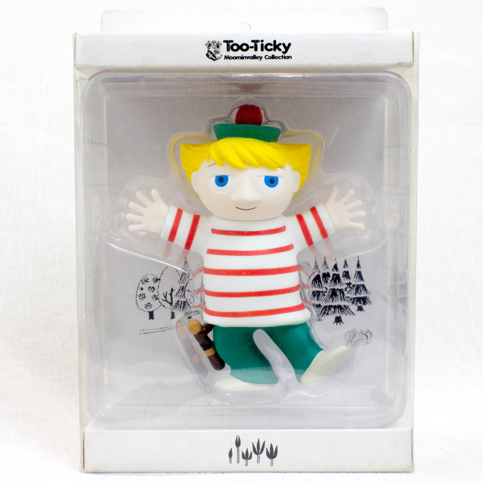 Too Ticky PVC Figure Moomin Valley Collection Sekiguchi STOC JAPAN