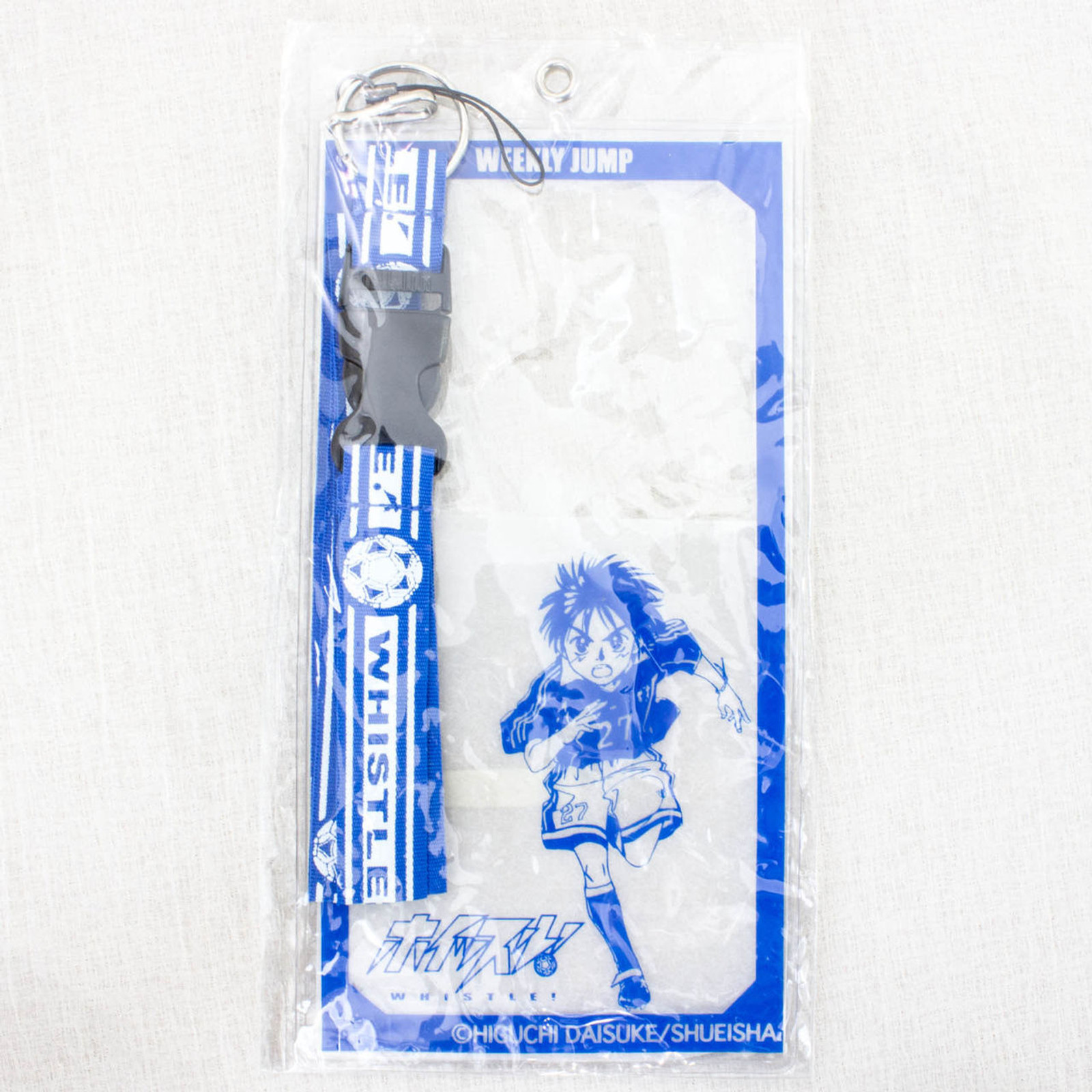 Whistle ! Shou Kazamatsuri Ticket Holder Strap Shonen Jump JAPAN MANGA ANIM