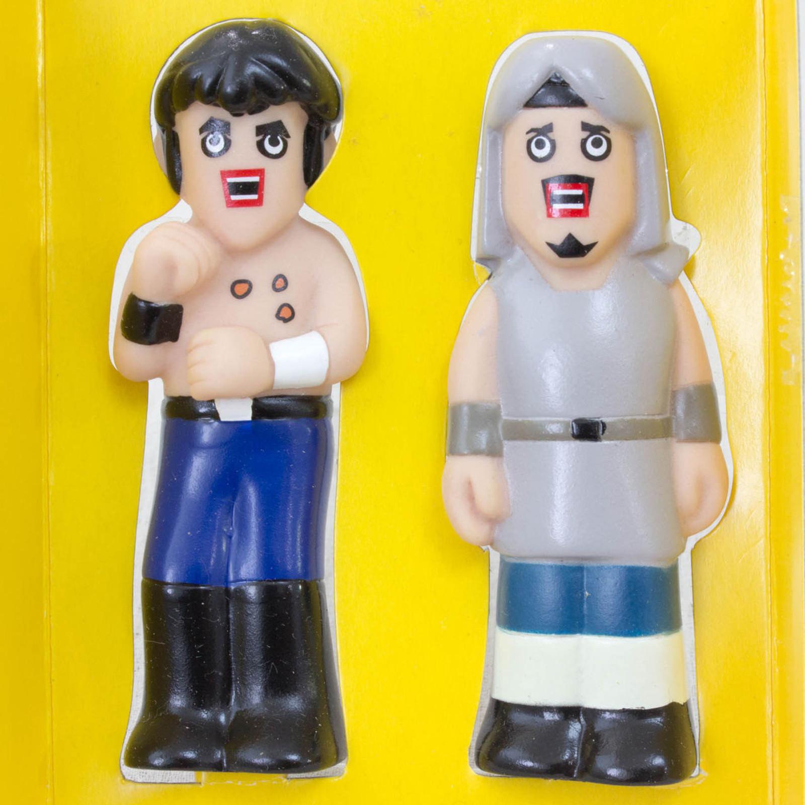 Fist of the North Star KENSHIRO & TOKI Finger Doll Figure Hokuto no Ken JAPAN