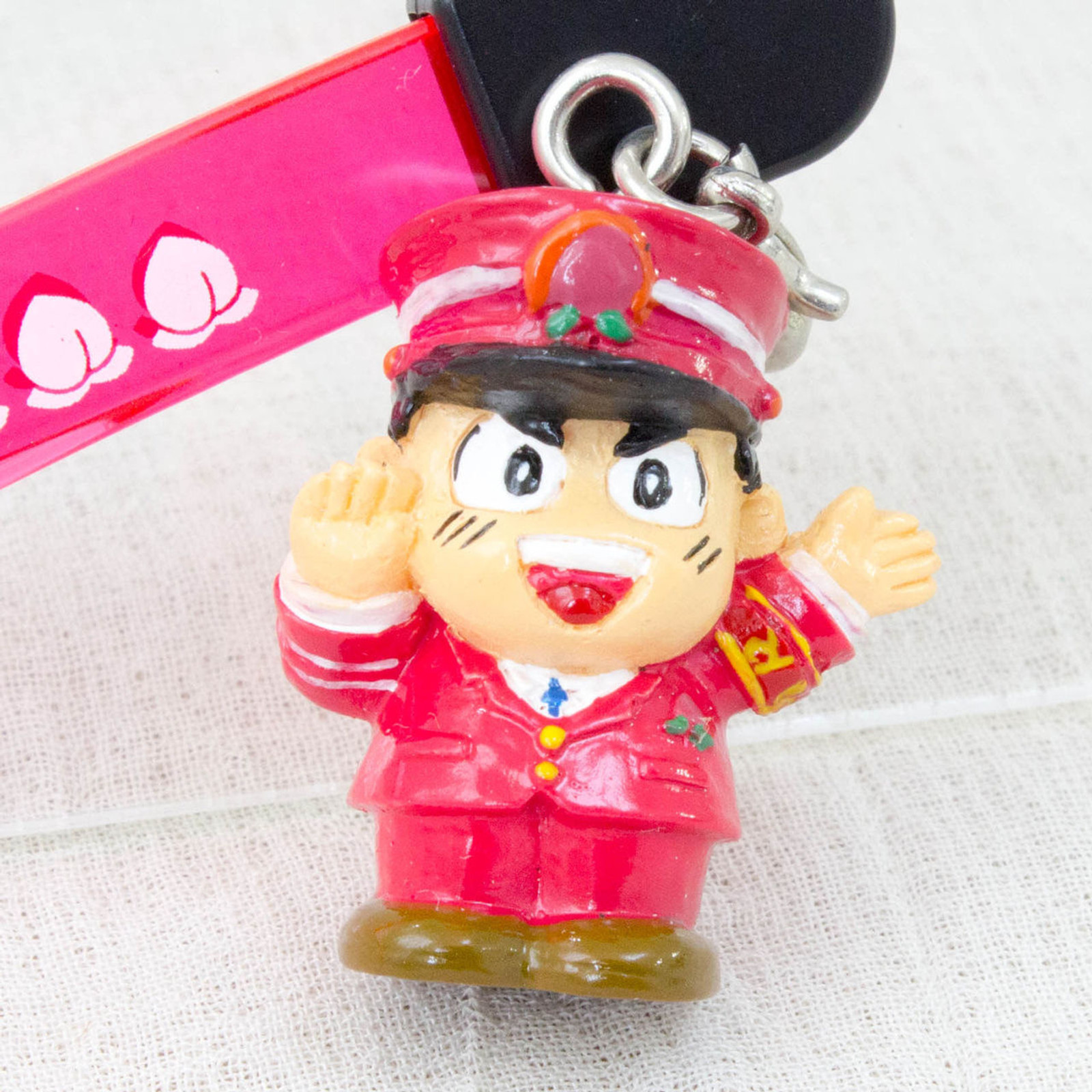 Momotaro Dentetsu Mascot Figure Strap Hudson Momotetsu JAPAN ANIME GAME