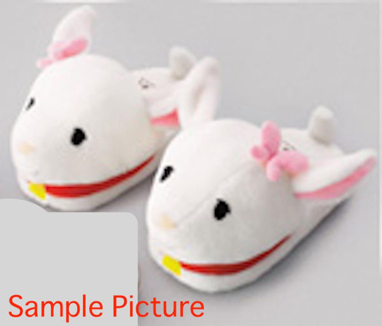 Heidi Girl of the Alps Yuki-chan Goat Face Plush Doll Slippers JAPAN ANIME
