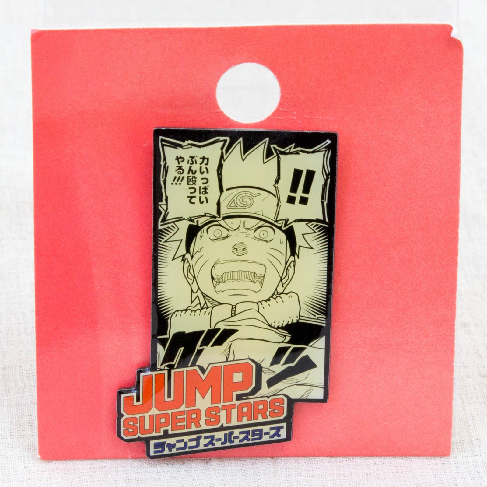 NARUTO Shonen Jump Super Stars Pins JAPAN ANIME MANGA