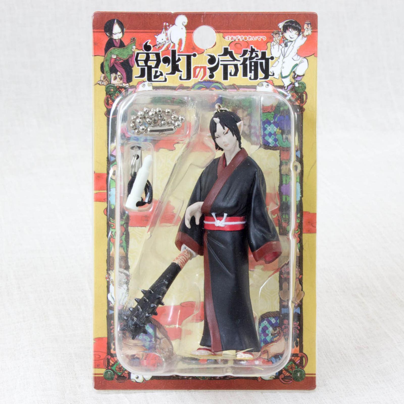 "Hoozuki no Reitetsu 3"" Figure Ballchain Strap Aile Planning JAPAN ANIME MANGA"