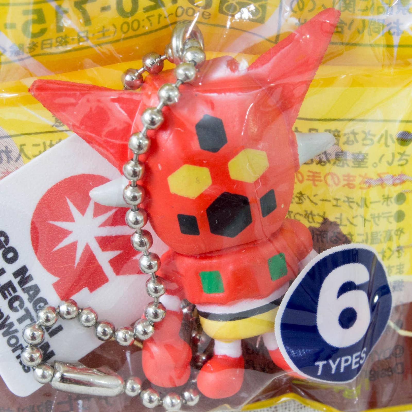 Getter Robo Mini Figure Ballchain Nagai Go Panson Works JAPAN ANIME MANGA
