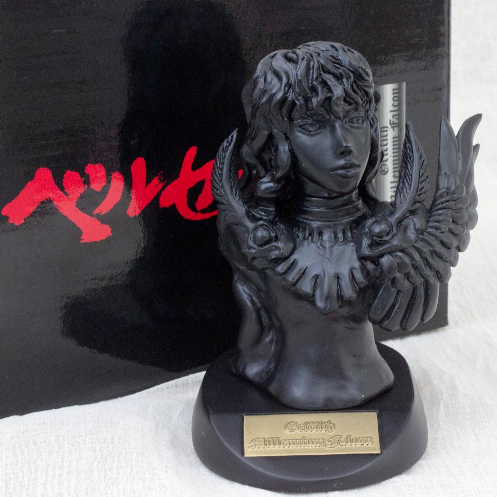 Berserk Griffith Millennium Falcon Bust Figure Black Limited Art of War JAPAN
