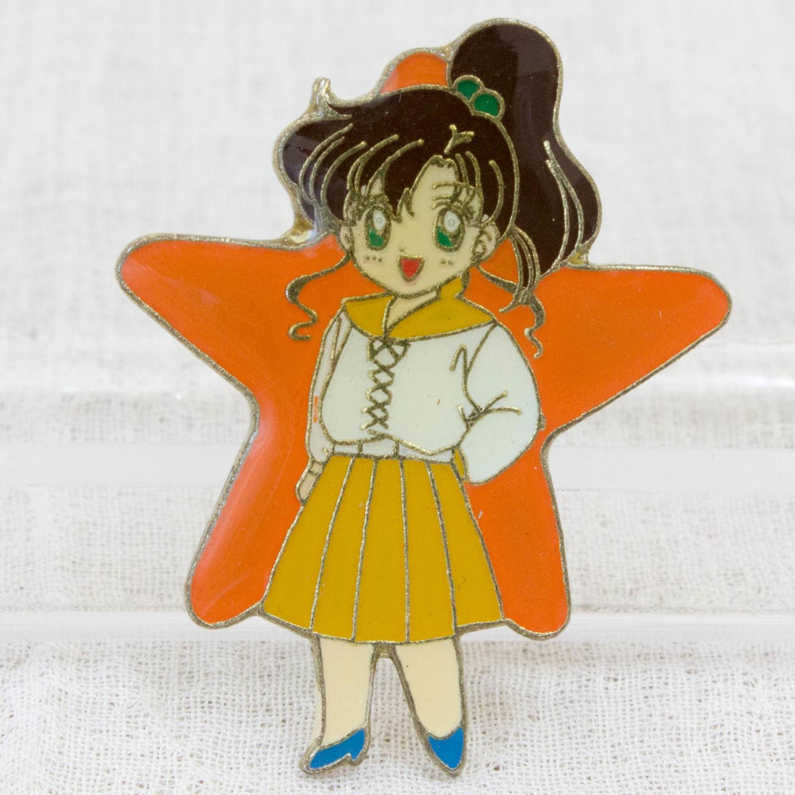 Pretty Soldier Sailor Moon Makoto Kino Jupiter Metal Pins Badge JAPAN ANIME 1