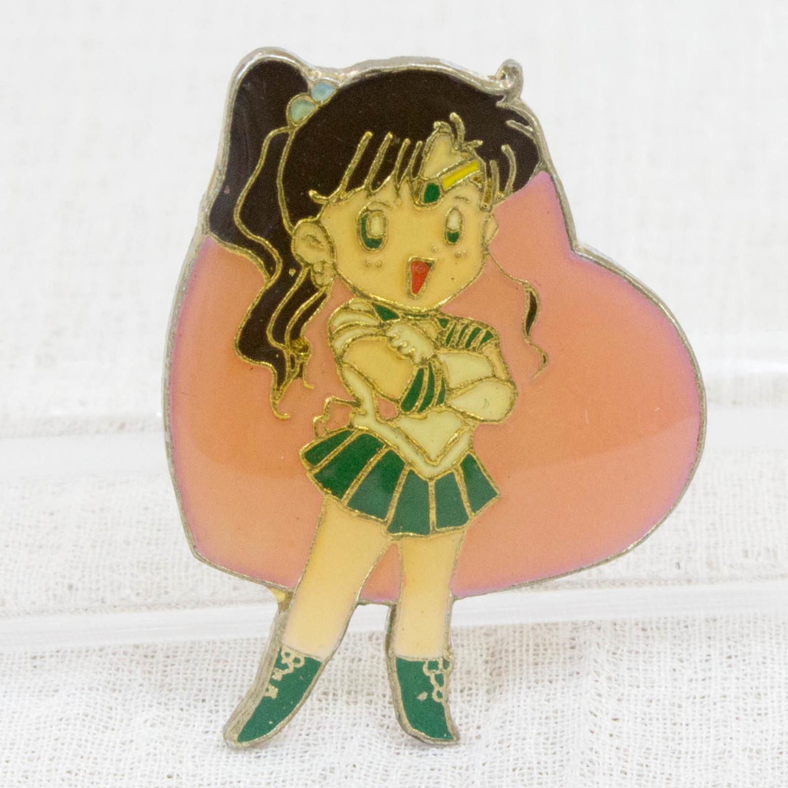 Pretty Soldier Sailor Moon Makoto Kino Jupiter Metal Pins Badge JAPAN ANIME 2