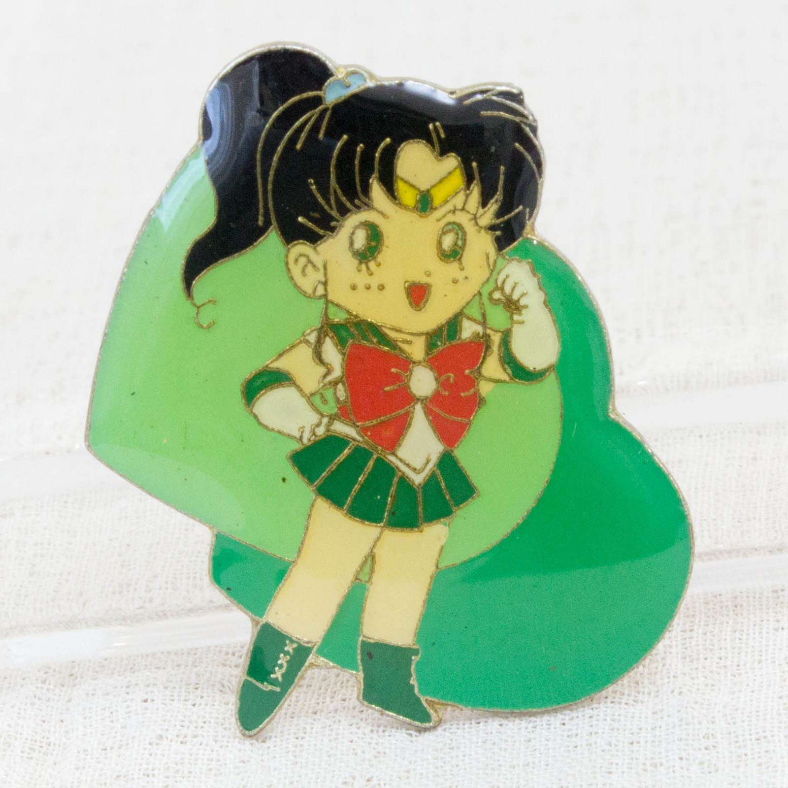 Pretty Soldier Sailor Moon Makoto Kino Jupiter Metal Pins Badge JAPAN ANIME 3