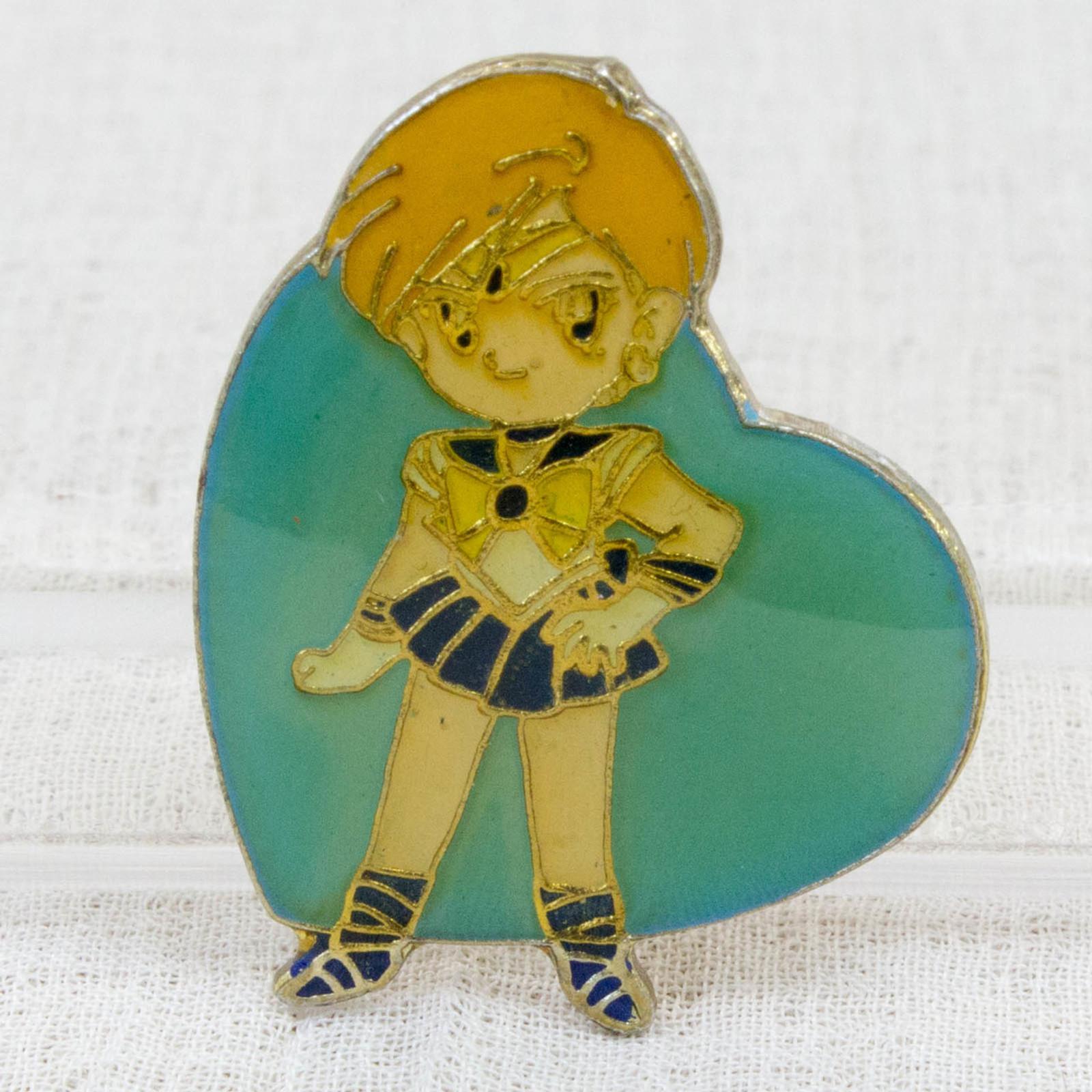 Pretty Soldier Sailor Moon Haruka Tenoh Uranus Metal Pins Badge JAPAN ANIME