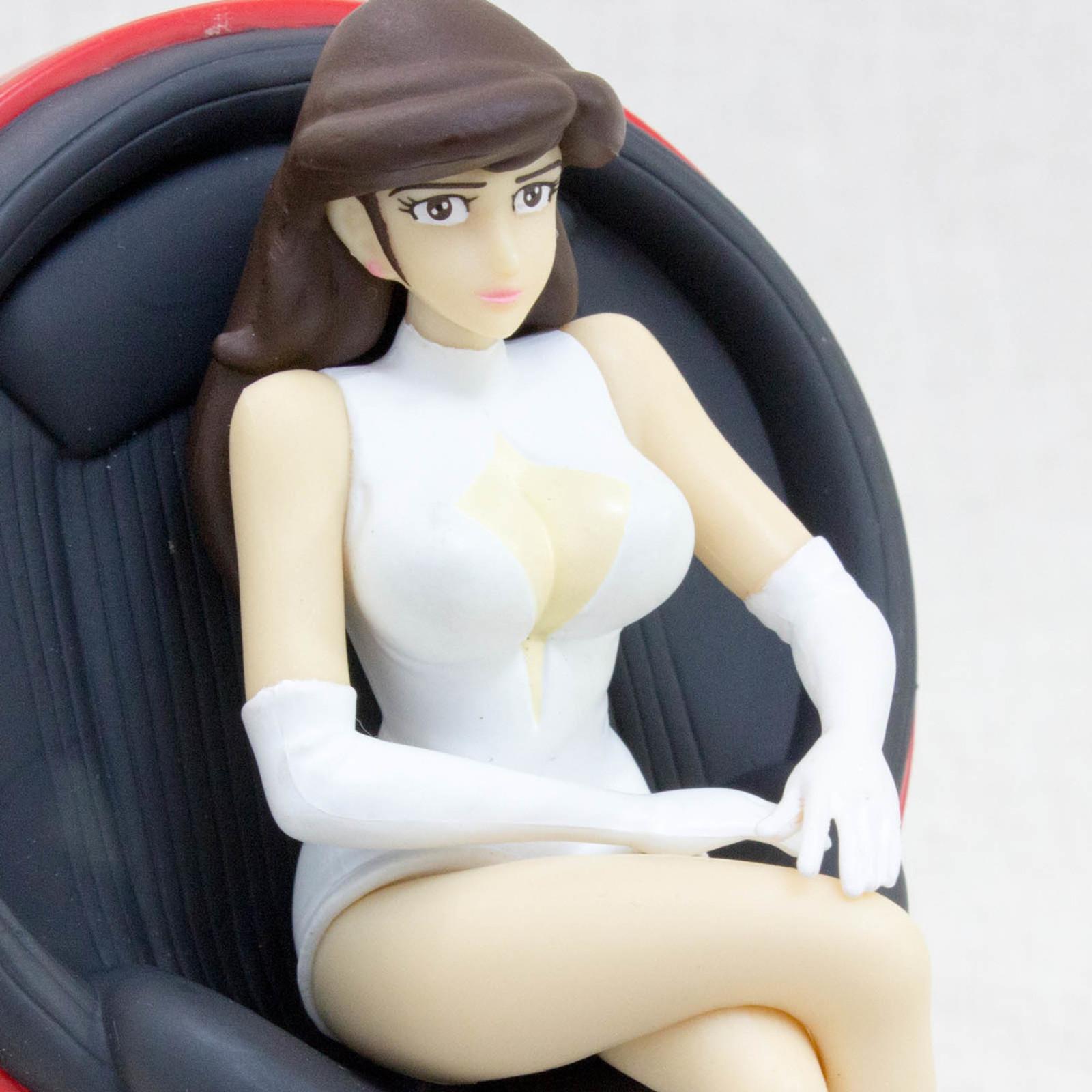 Lupin the Third (3rd) Fujiko Mine Figure On The Chair Banpresto JAPAN ANIME