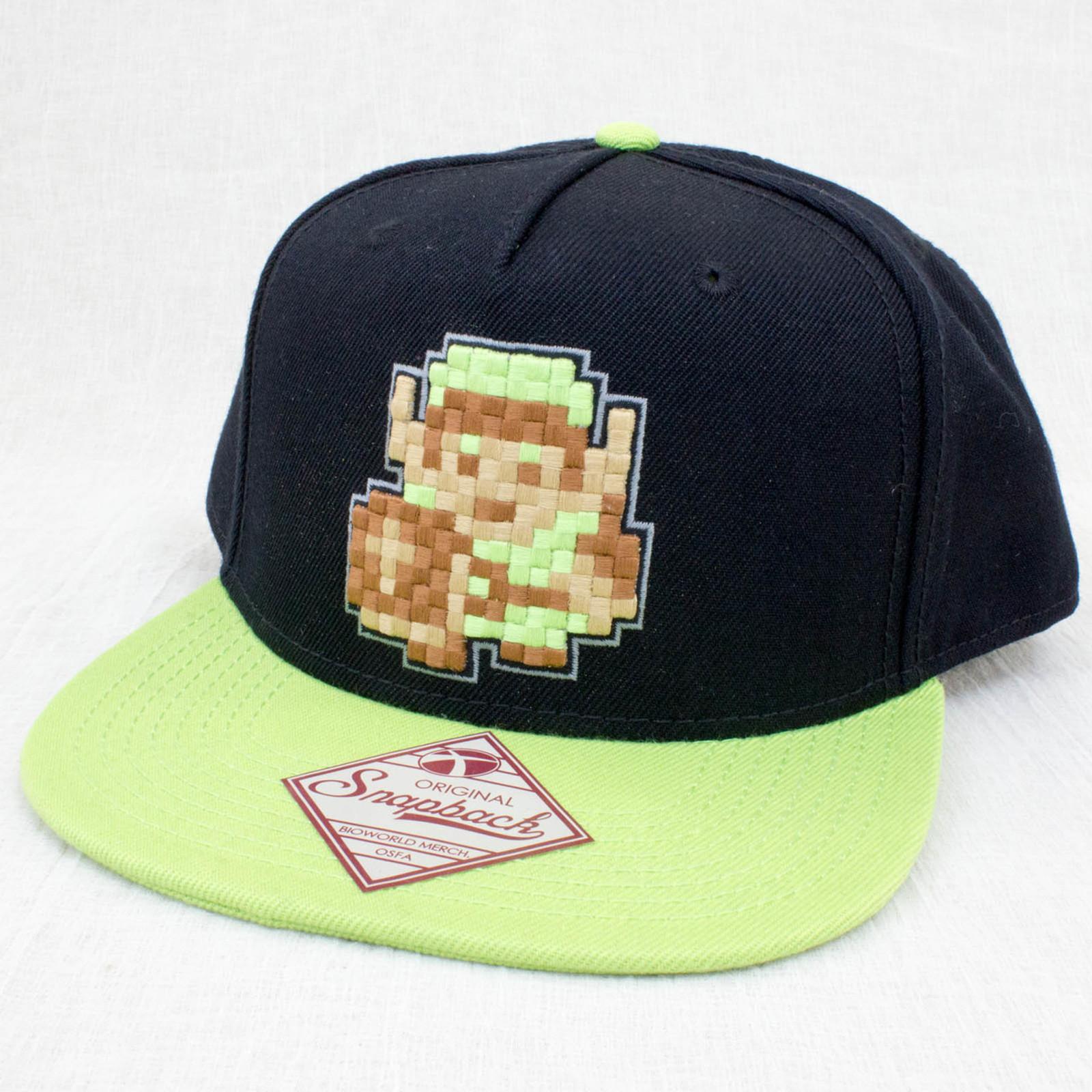 Legend of Zelda 8 Bit Character LINK Baseball Cap Blowworld JAPAN NINTENDO