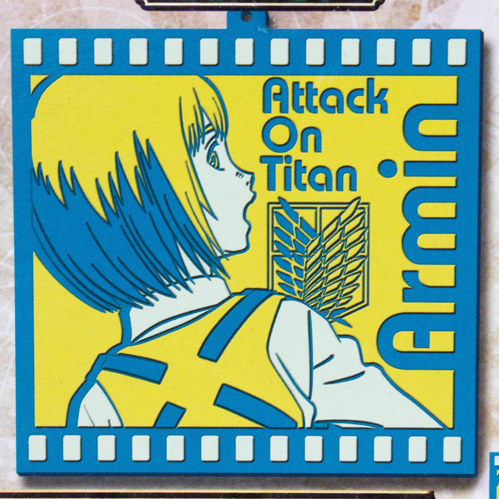 Attack on Titan Rubber Coaster Armin Arlert Banpresto JAPAN ANIME MANGA