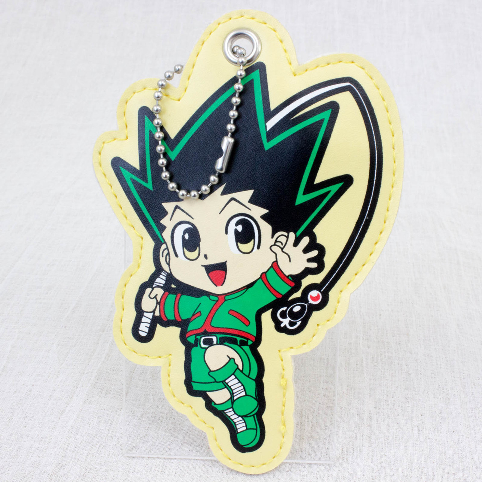 HUNTER x HUNTER Last Mission Movie Gon Freecss Mascot Coin Case JAPAN ANIME
